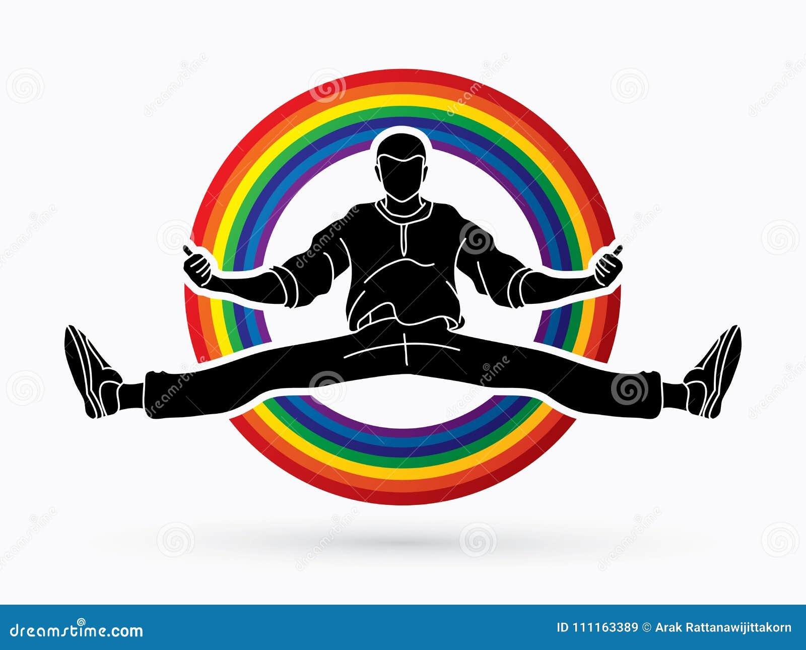 舞蹈家, Hip Hop,街道舞蹈, B男孩,舞蹈行动图表传染媒介