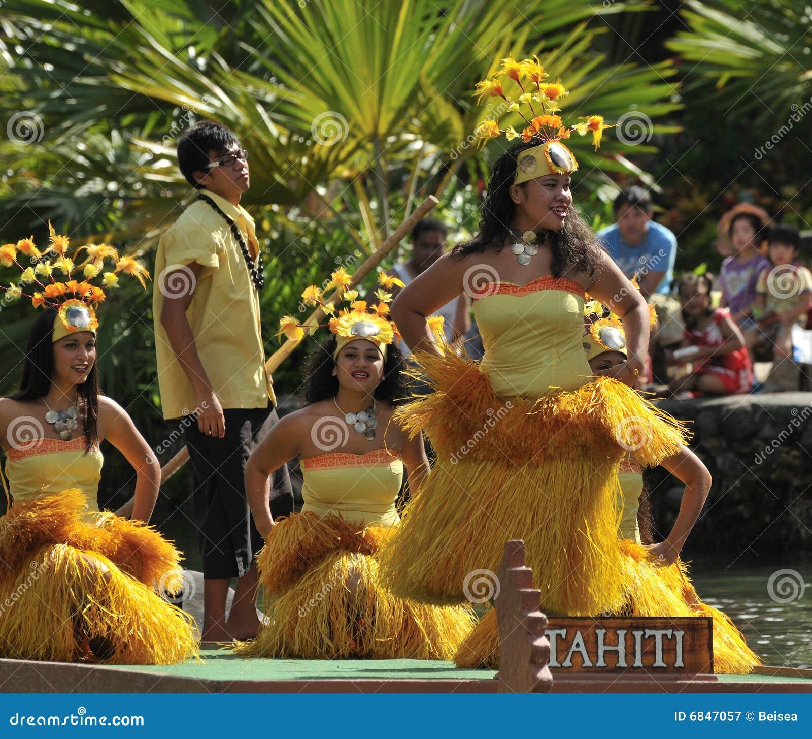 舞蹈演员塔希提岛