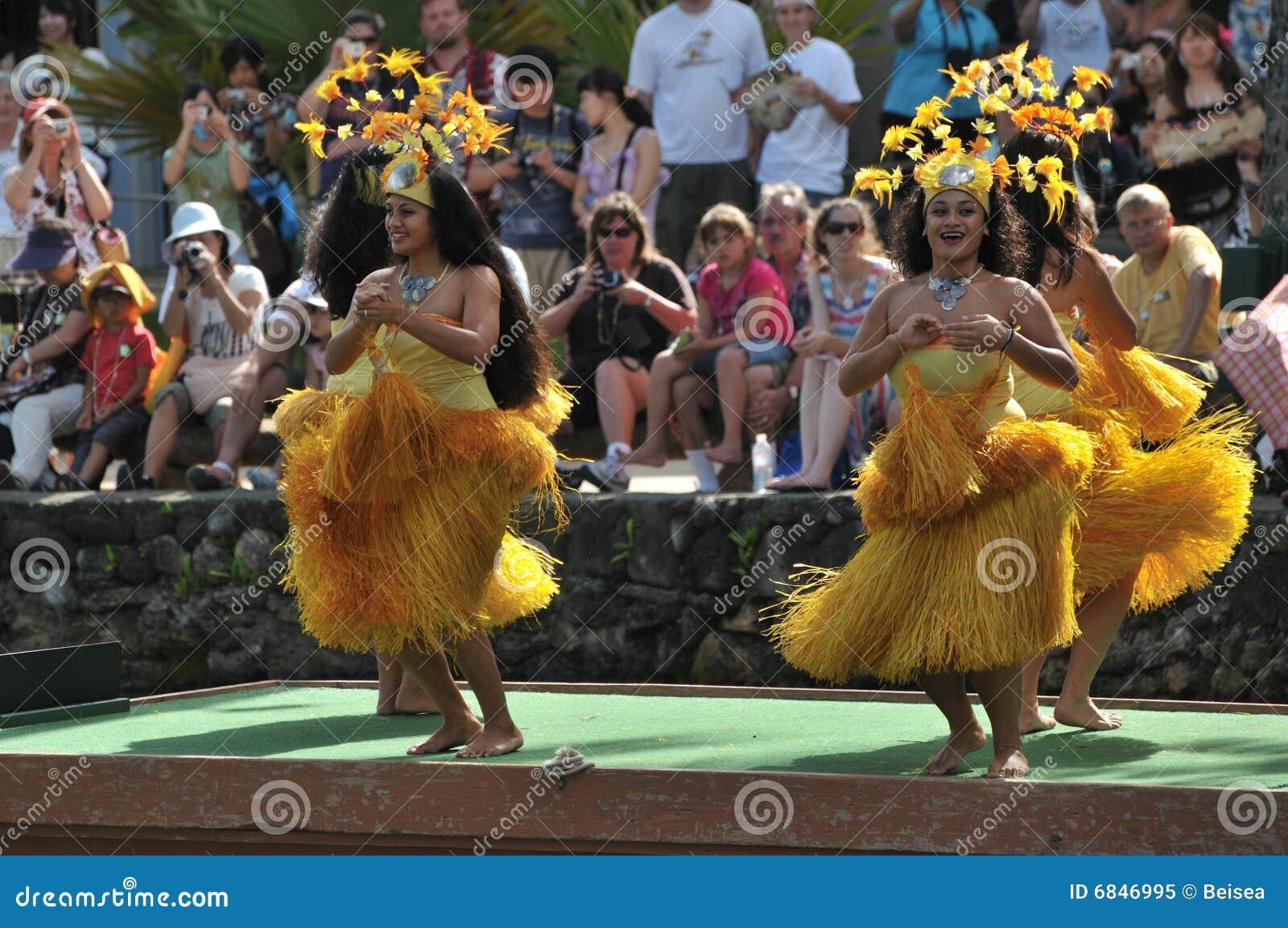 舞蹈演员夏威夷