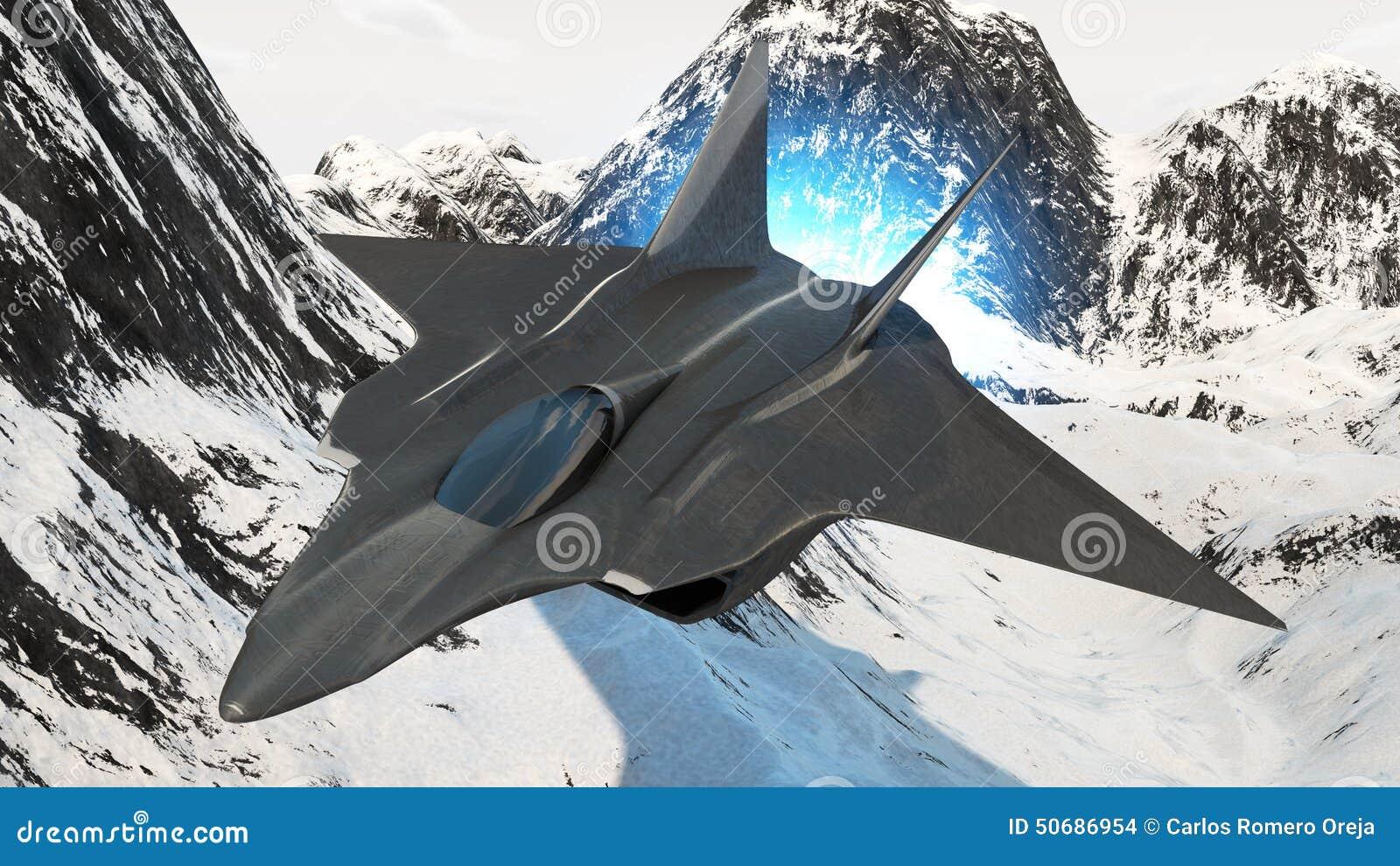 Download 航空器原型 库存例证. 插画 包括有 战斗机, 航空, 行动, 无形, 湿剂, 远期, 飞行, 任务, 蓝蓝 - 50686954