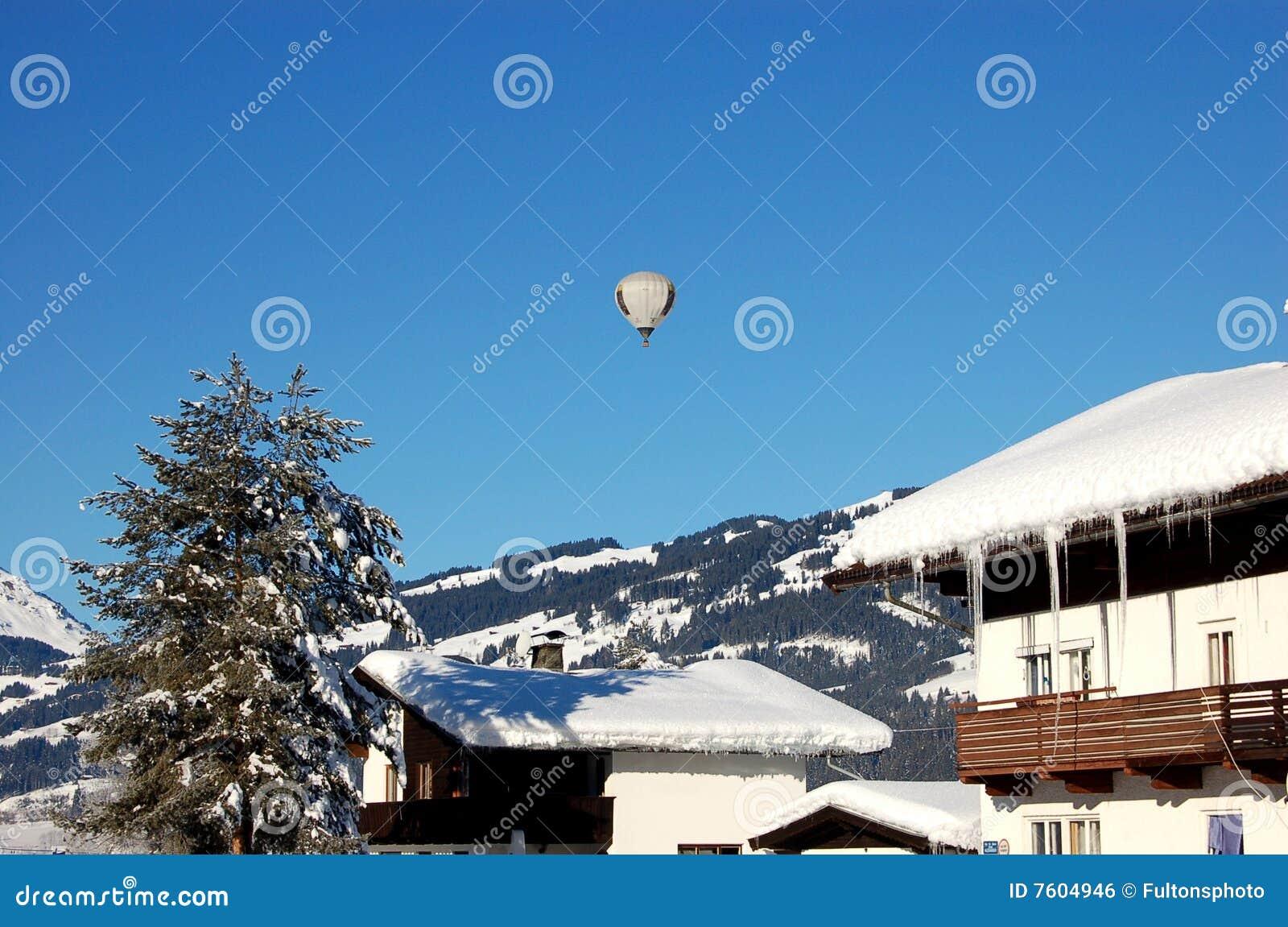 航空迅速增加热超出的奥地利