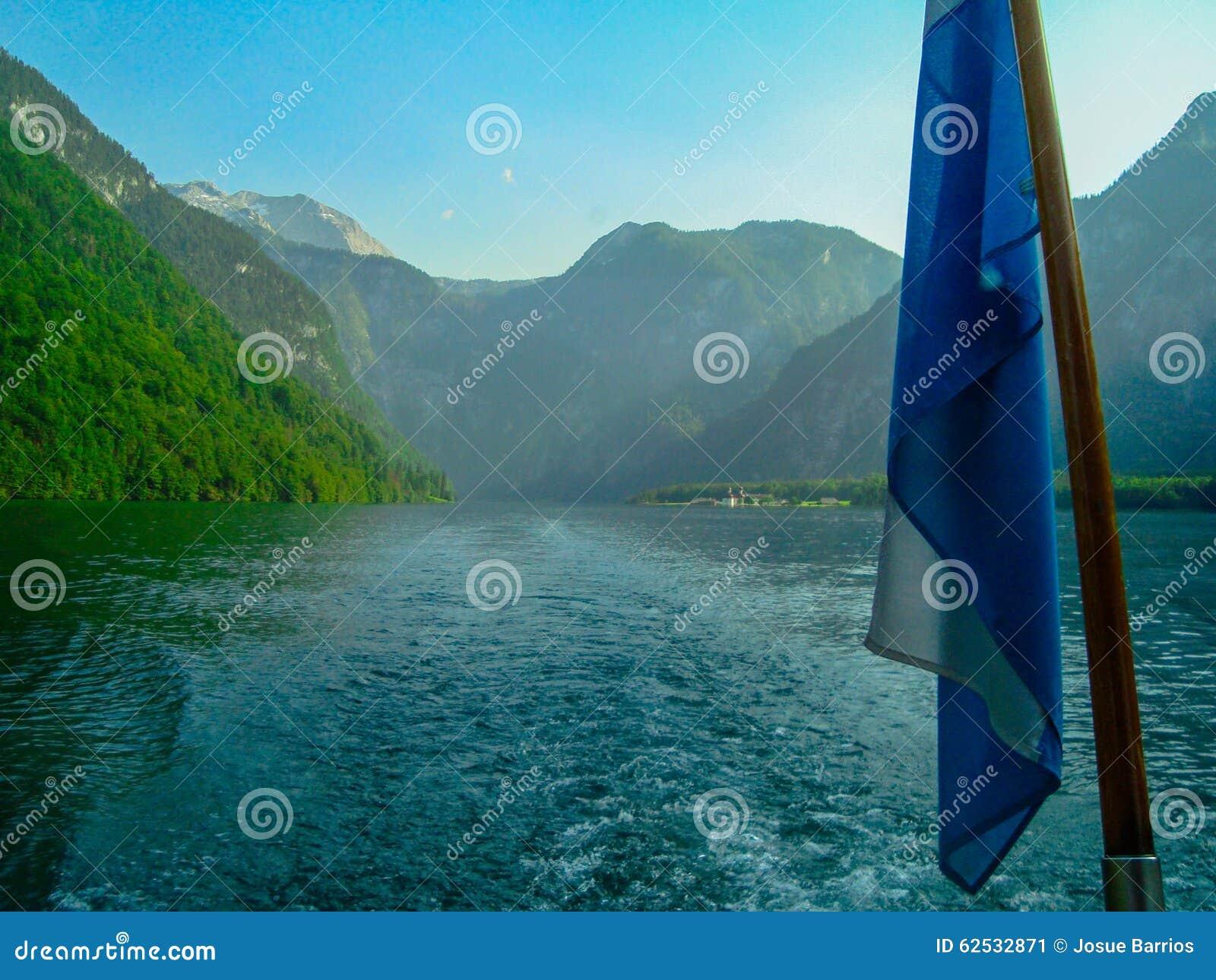 航行在Koenigsee