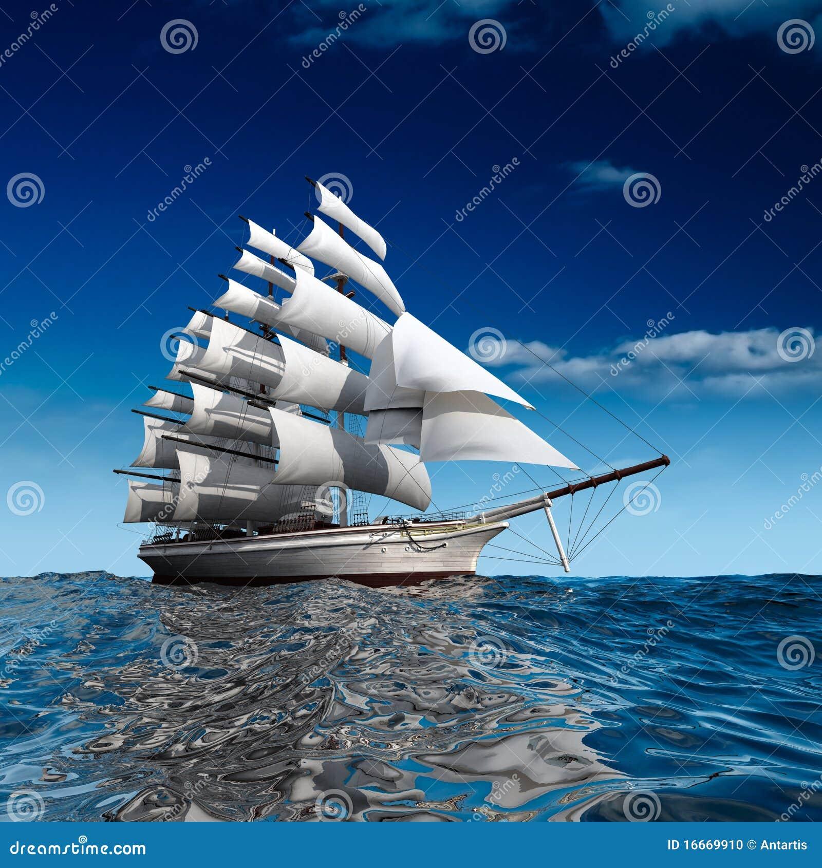 航行海运船