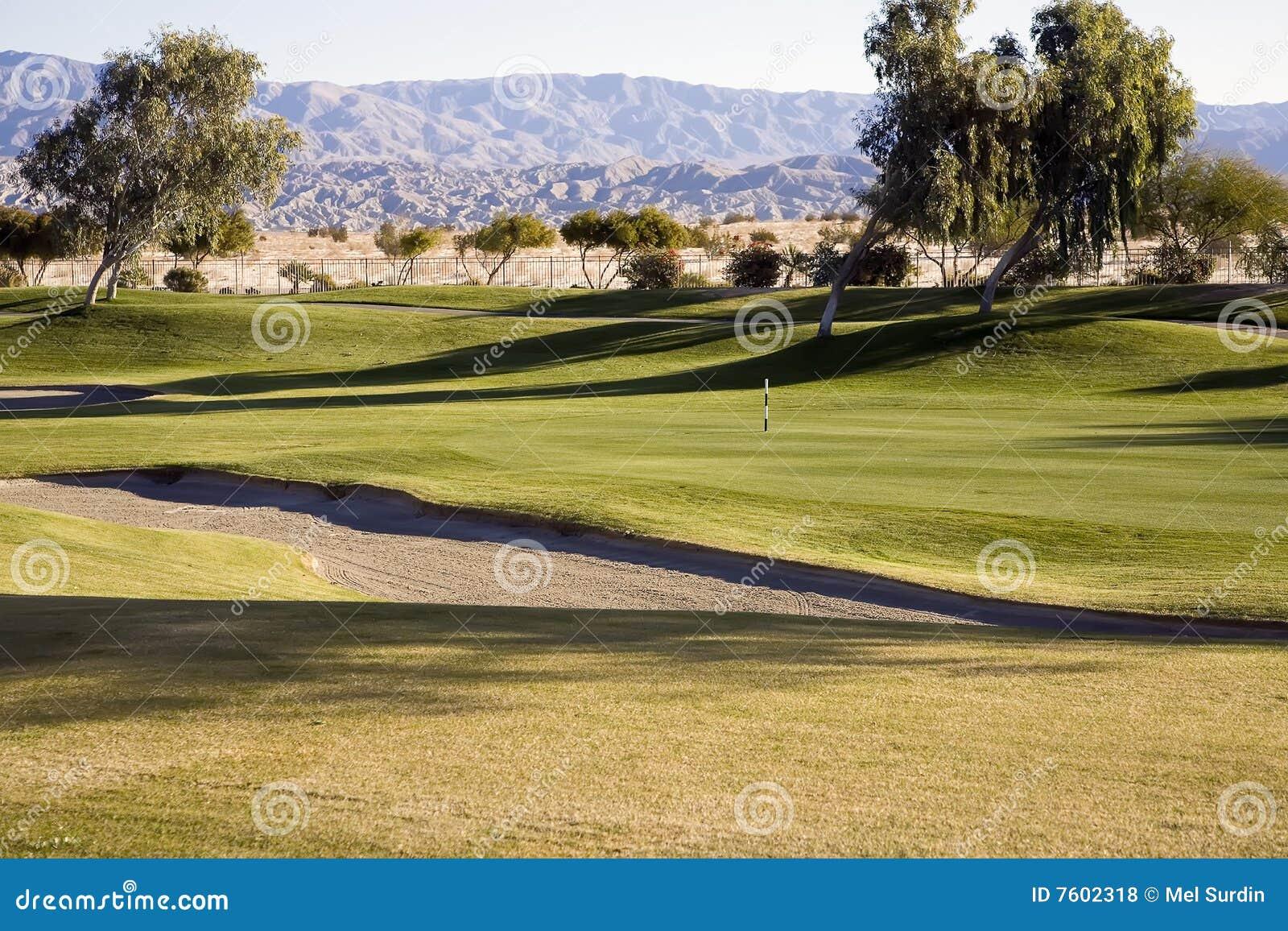 航路,砂槽,高尔夫球场