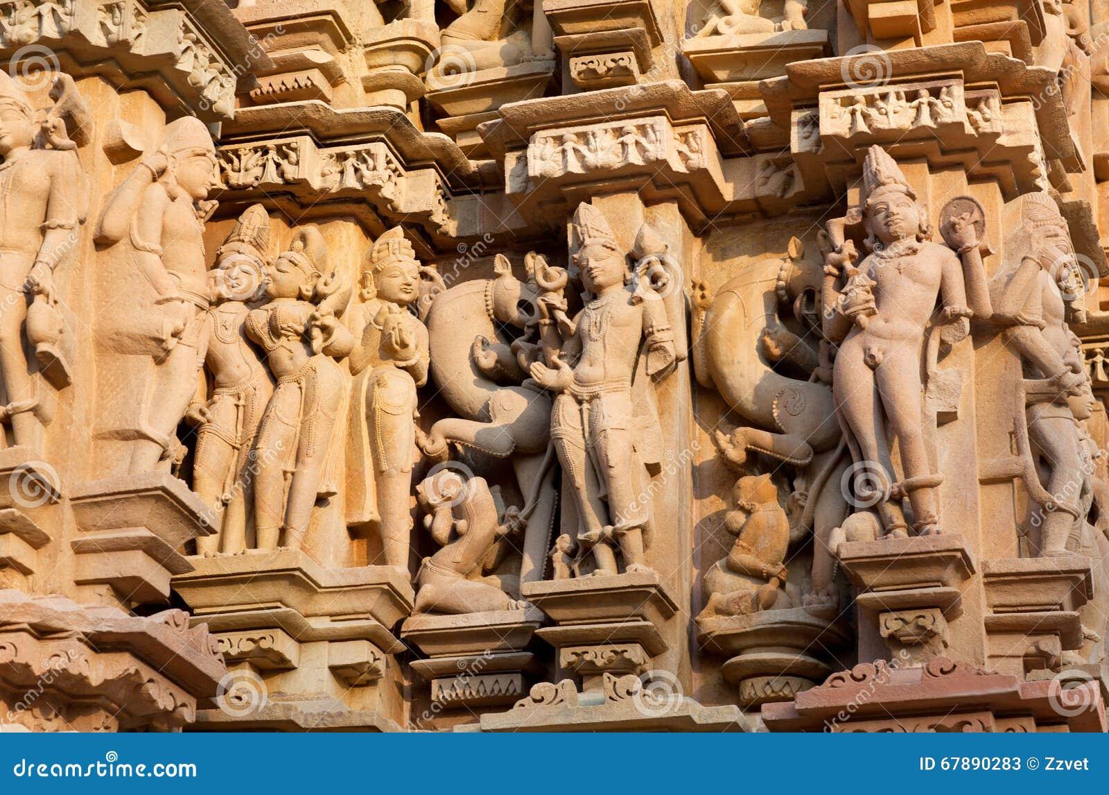 色情著名印度khajuraho寺庙