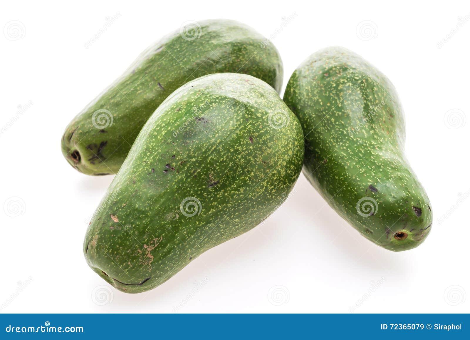 绿色新鲜的鲕梨