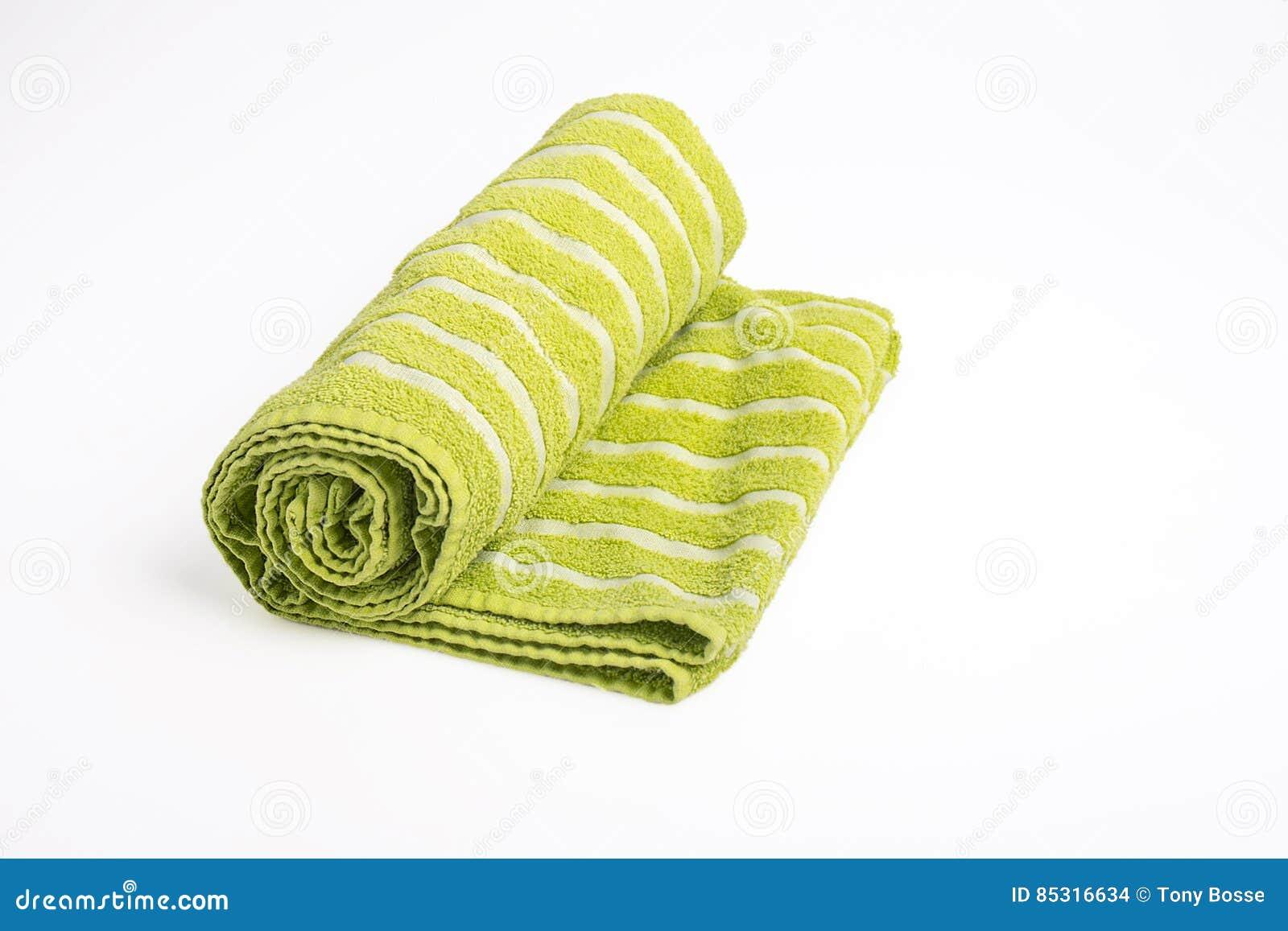 绿色海滩毛巾