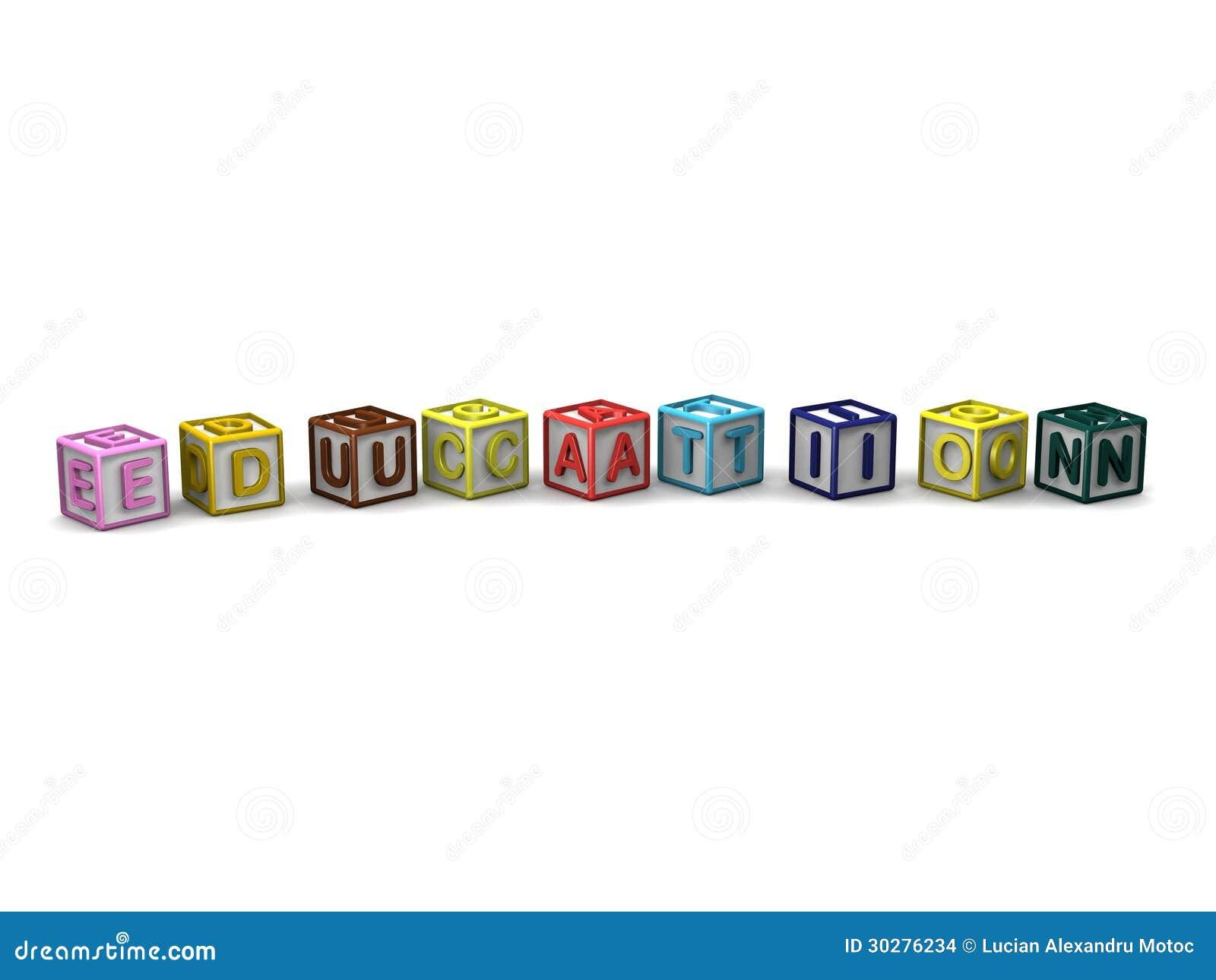 信件求拼写教育的立方