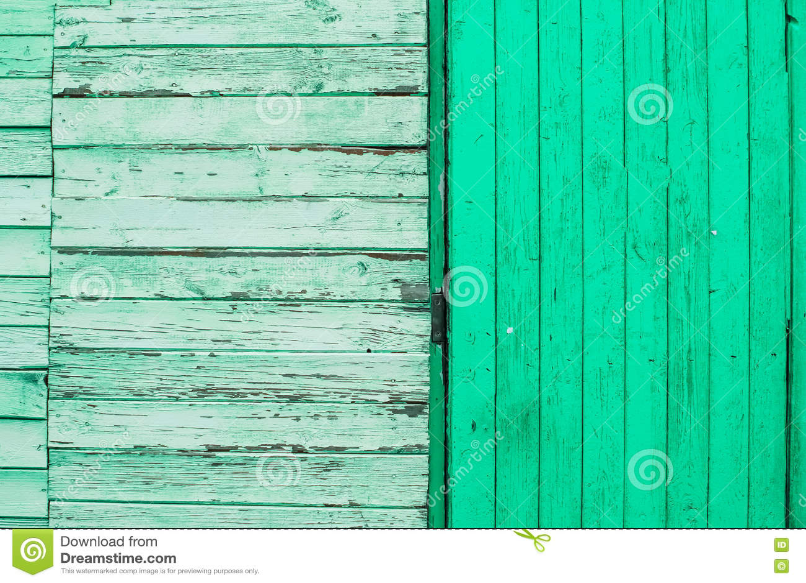 绿色纹理木头