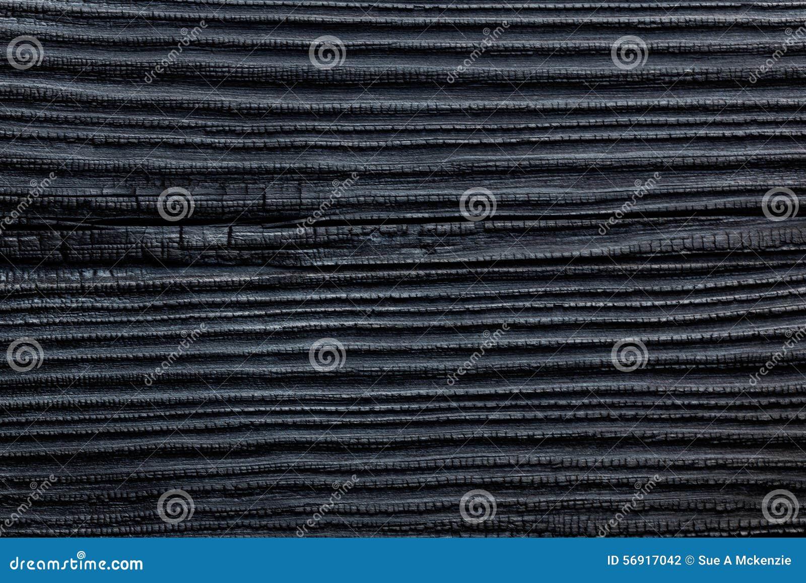 黑色被烧的&被烧焦的木雪松杉木议院房屋板壁背景