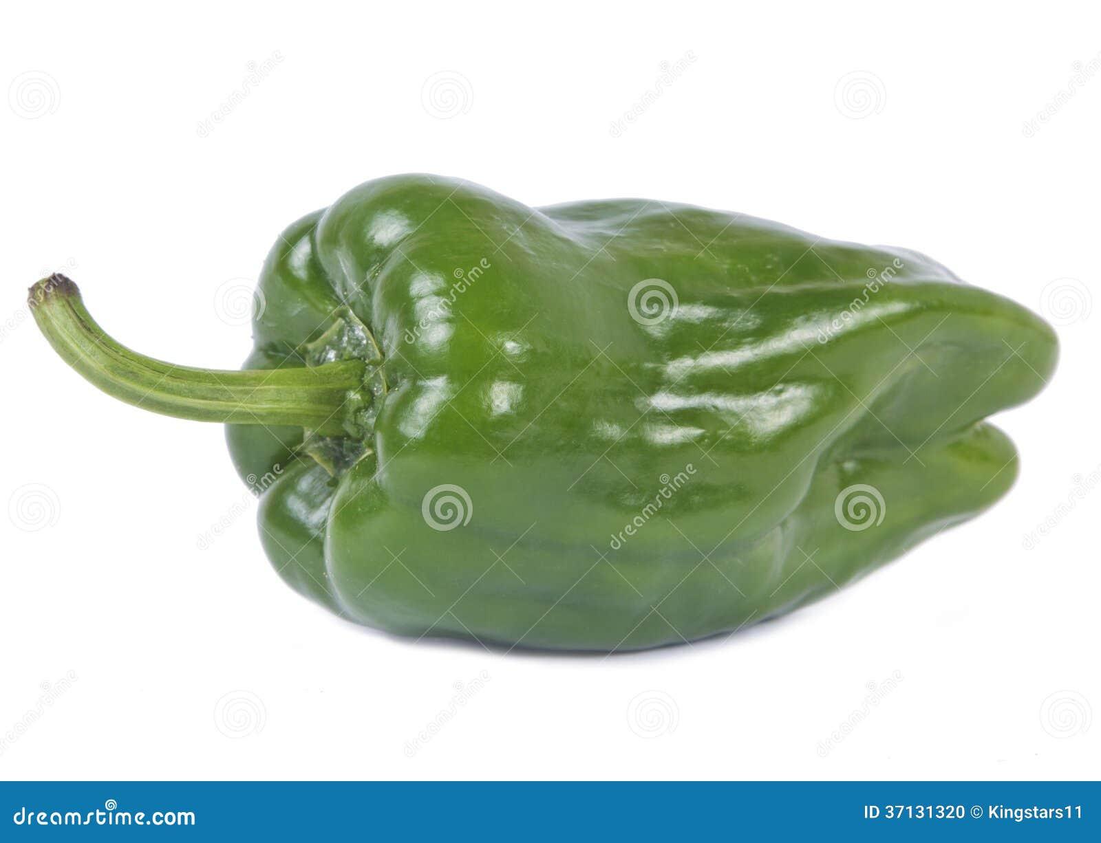 绿色辣椒的果实