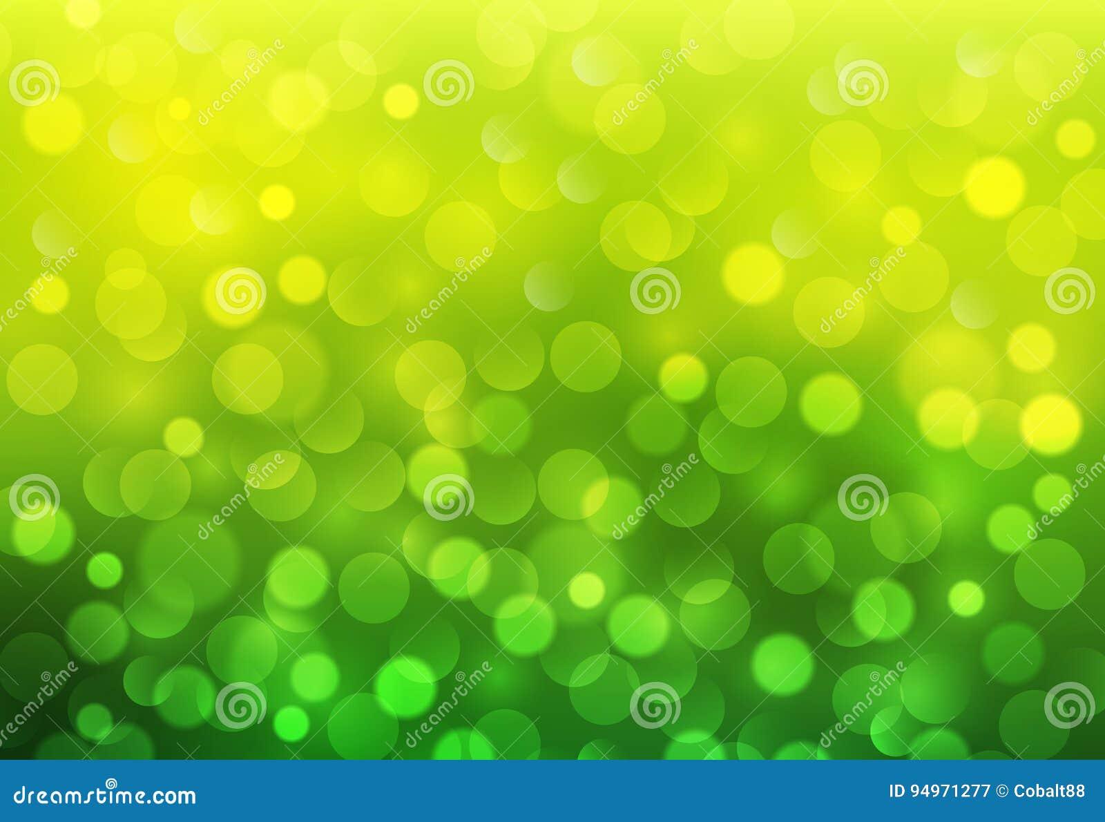 绿色晴朗的背景