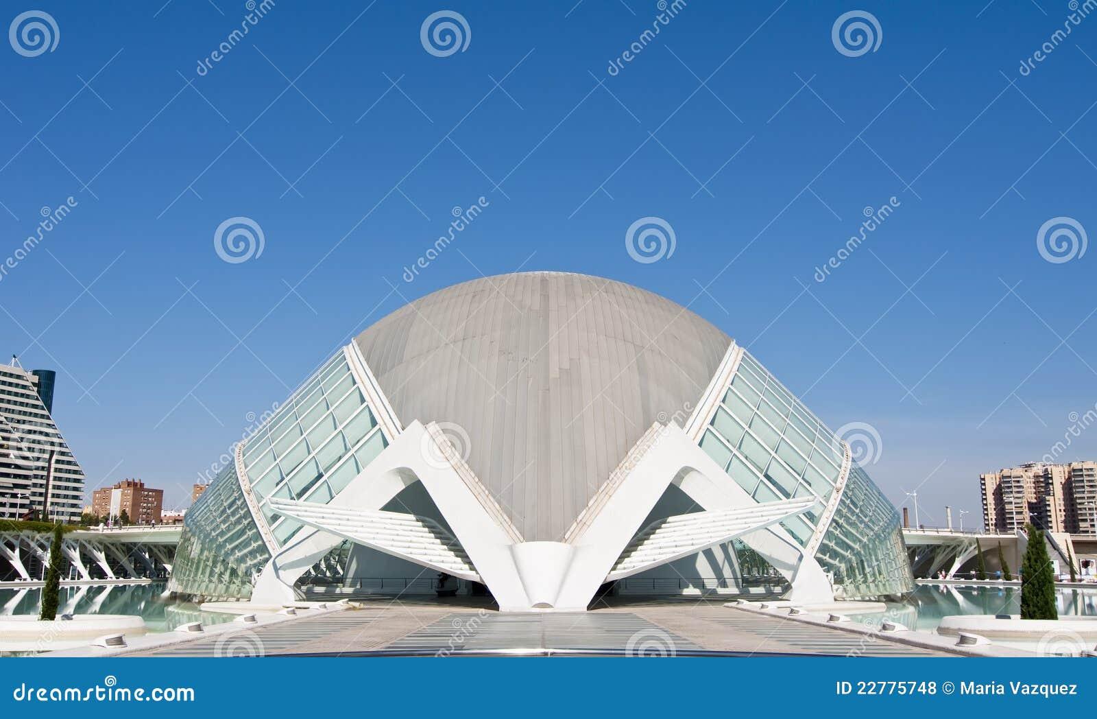 艺术城市hemisferic科学
