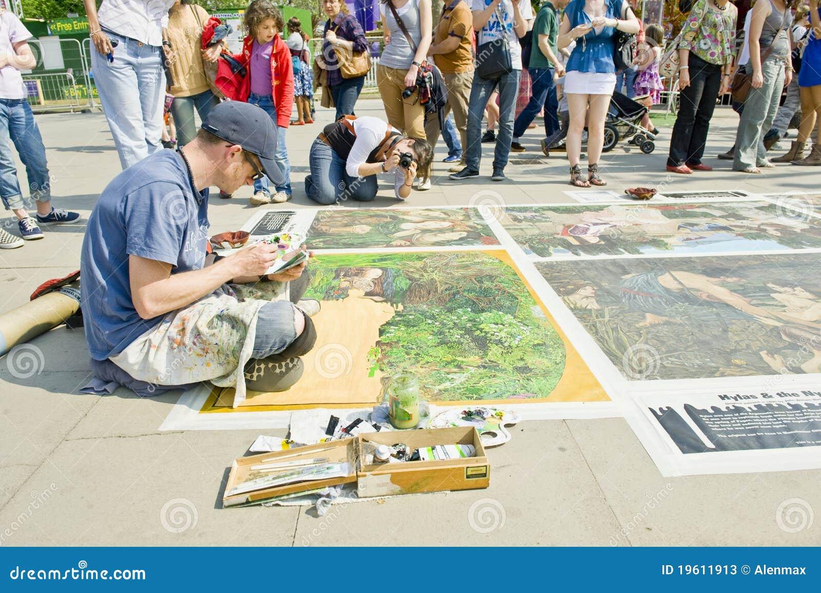 艺术家伦敦
