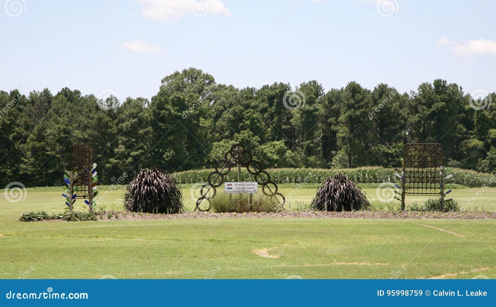 艺术庭院在西方田纳西农业研究中心