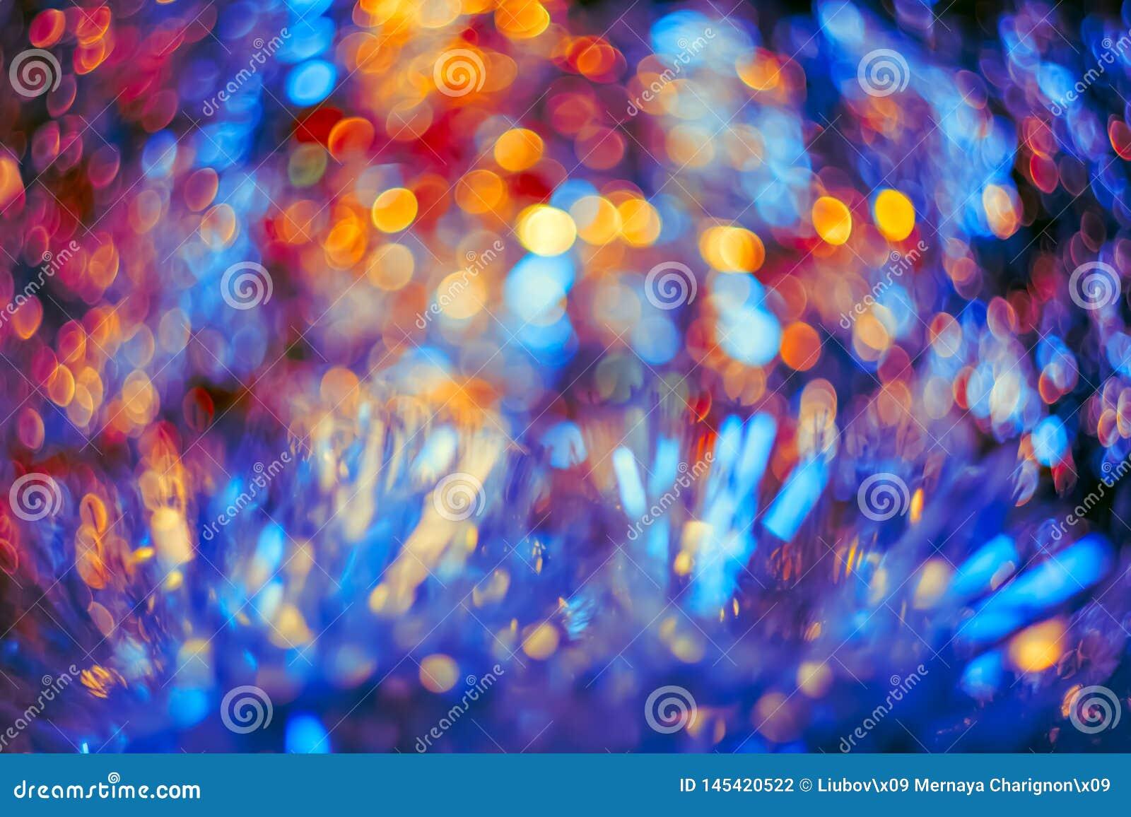 艺术性的五颜六色的bokeh创造了 r