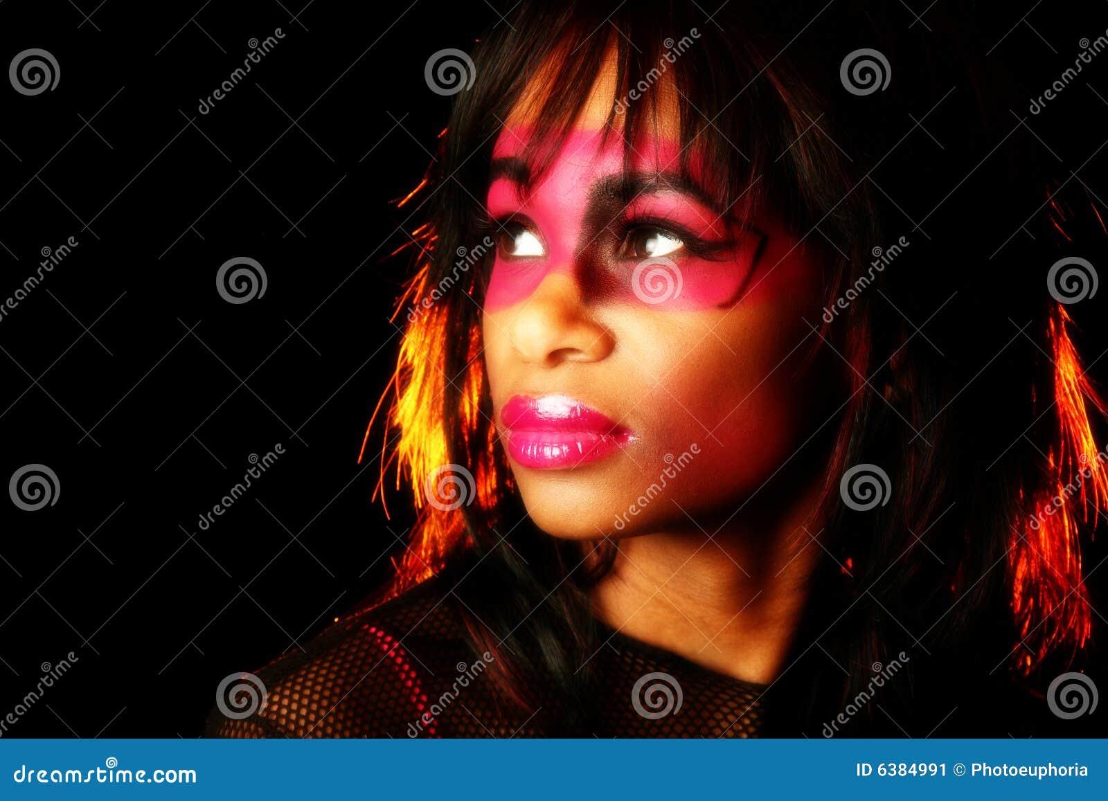 艺术性的化妆用品