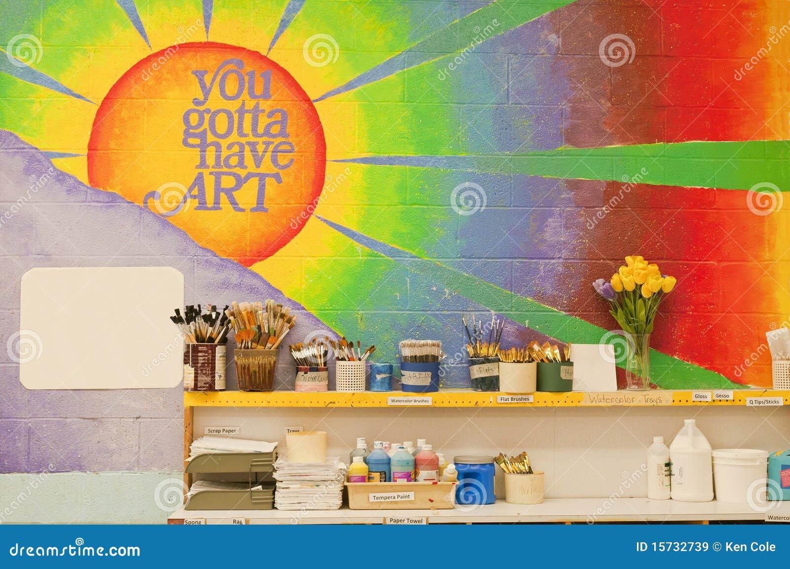 艺术教室壁画