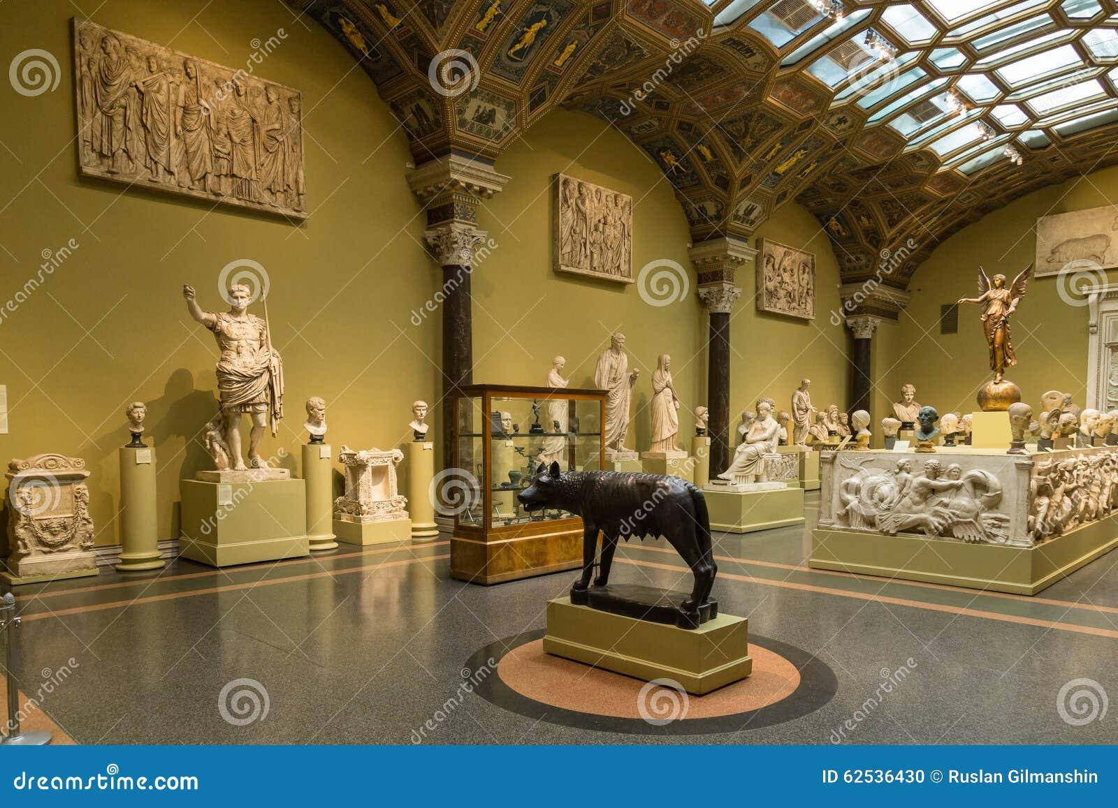 艺术普希金博物馆在莫斯科