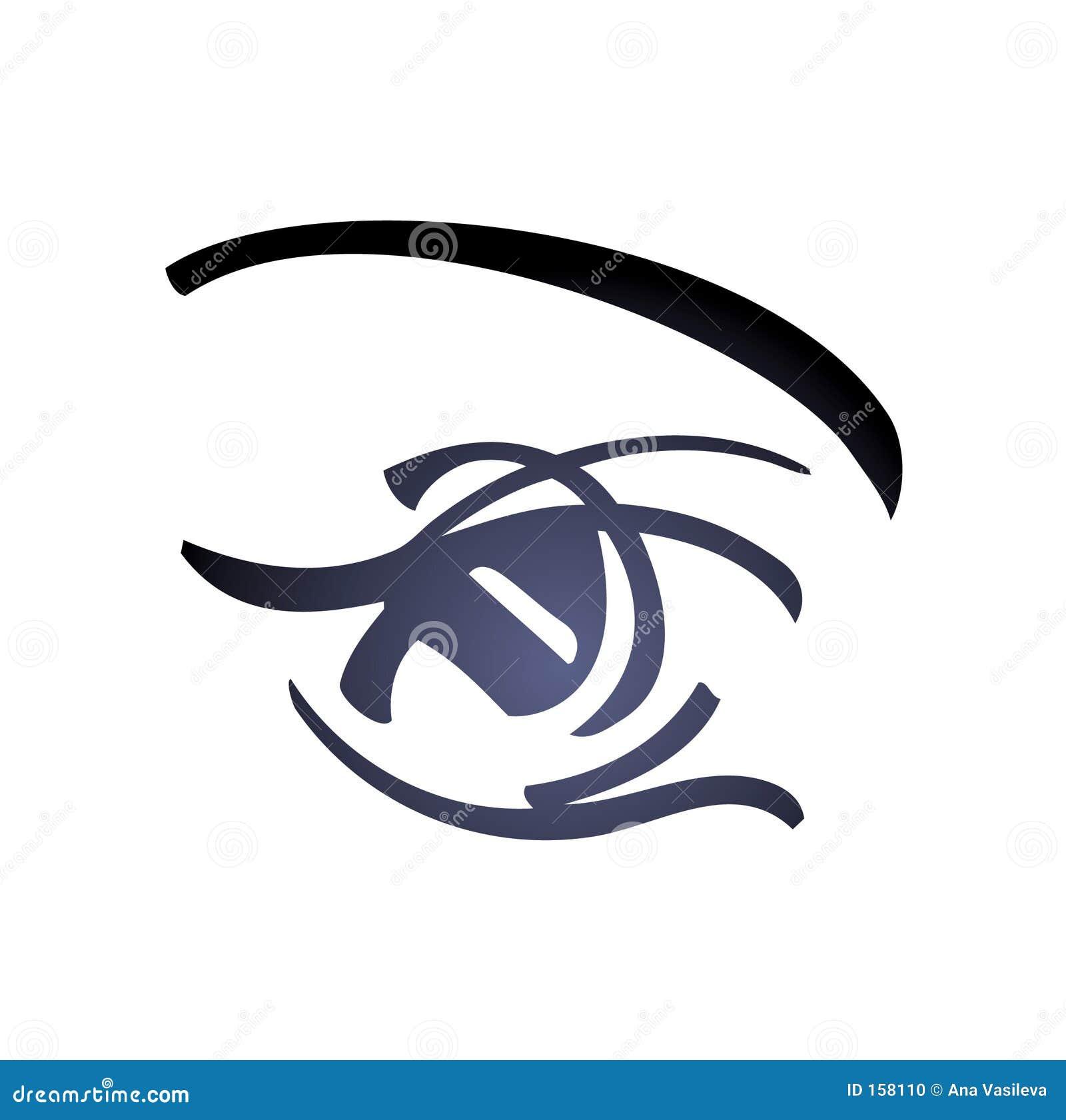 艺术眼睛向量妇女