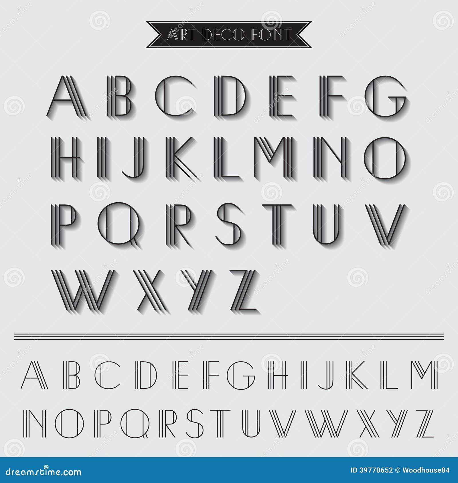 艺术装饰字体