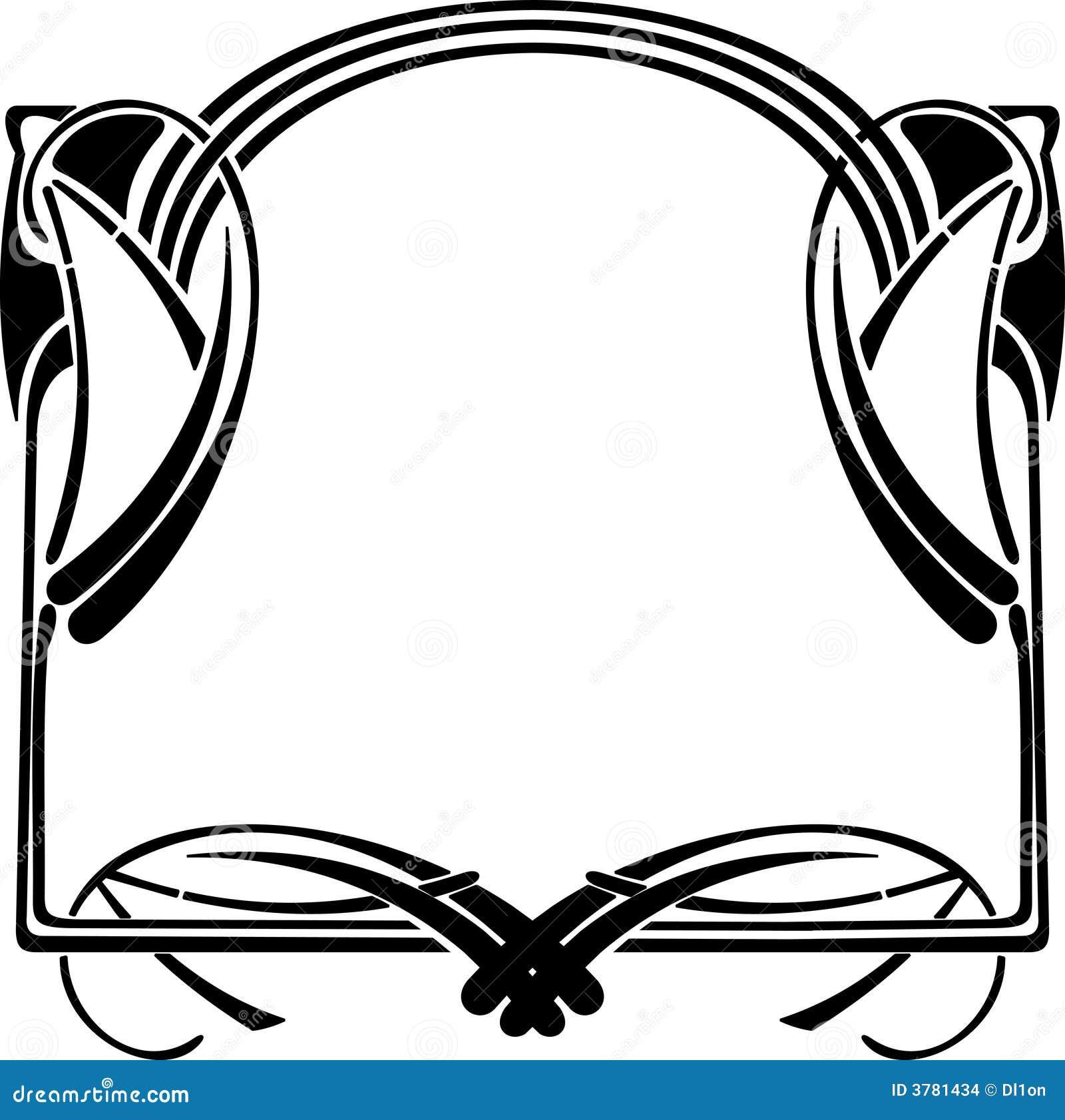 艺术装饰框架