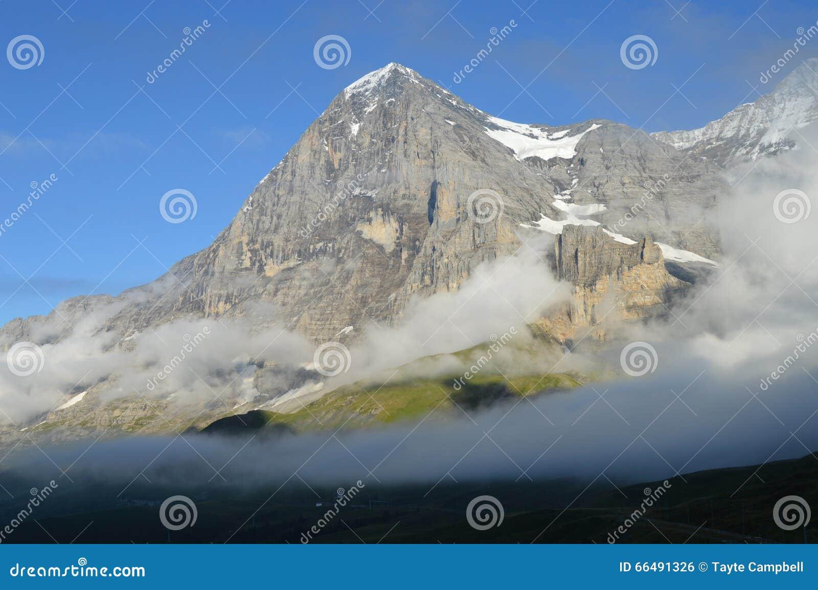 艾格峰的北部面孔