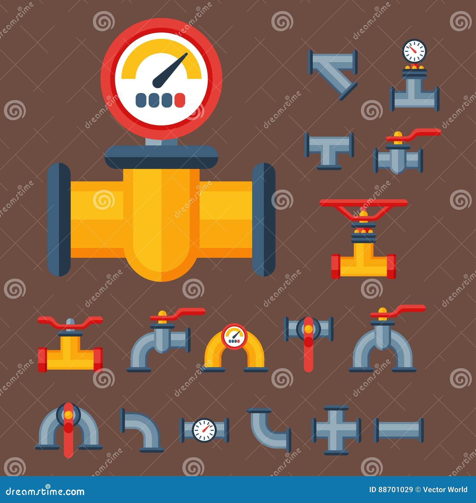 细节用管道输送水管产业排气阀建筑和油工业压力的不同的类型汇集