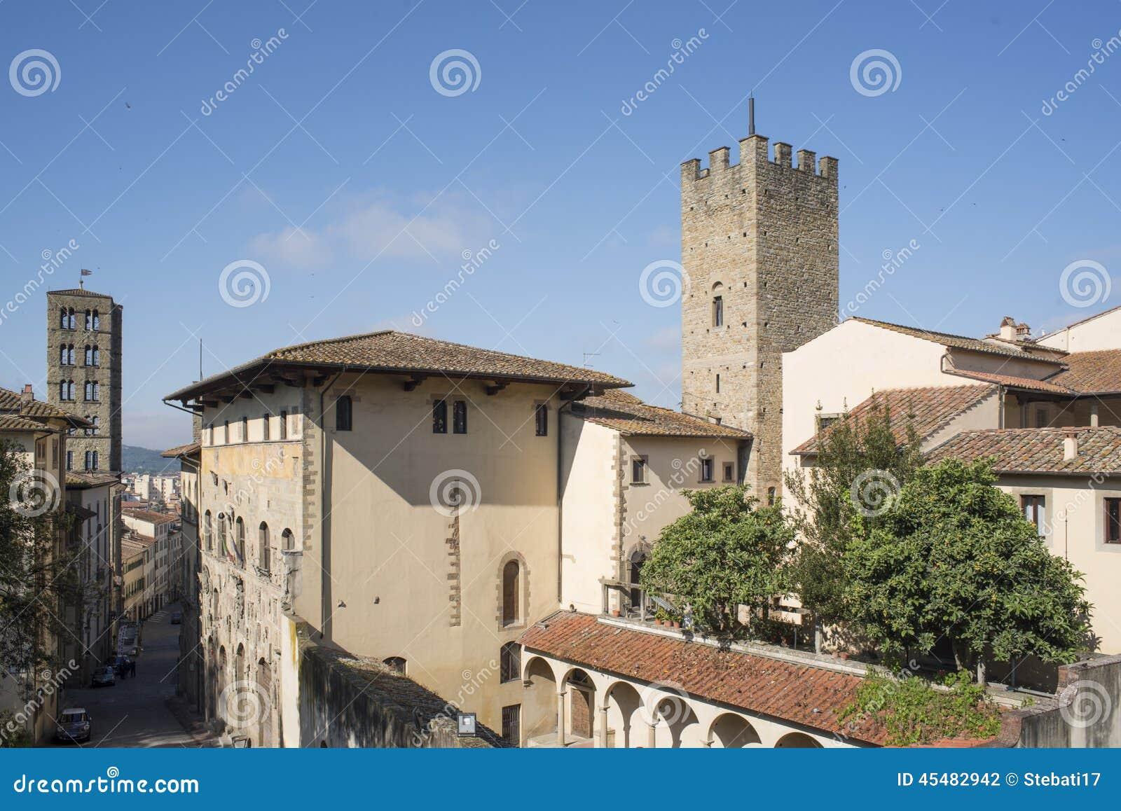 节略从阿雷佐托斯卡纳意大利欧洲上