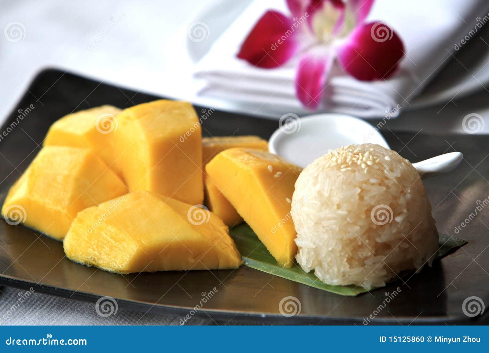 芒果米粘性泰国
