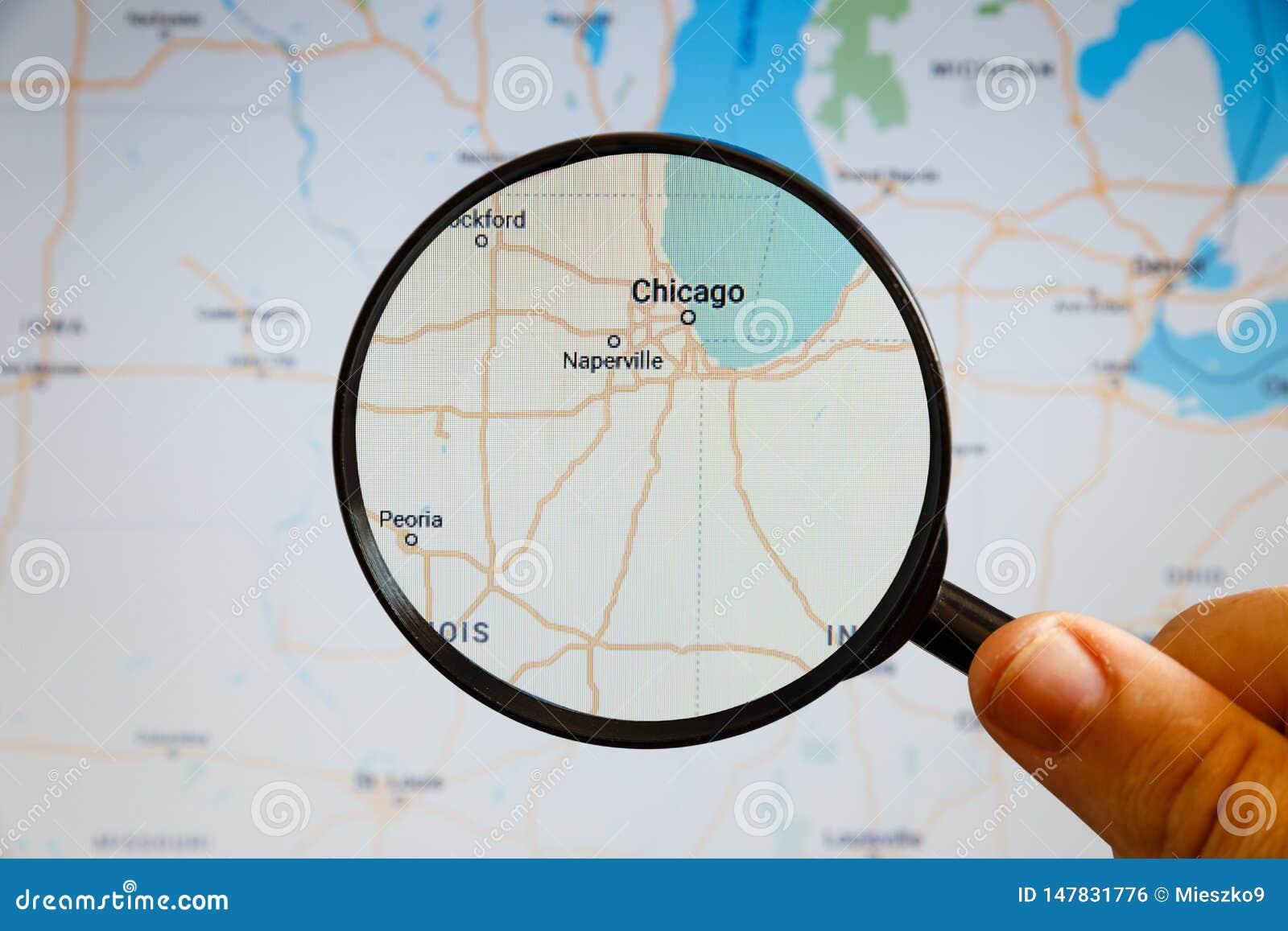 芝加哥,美国 r