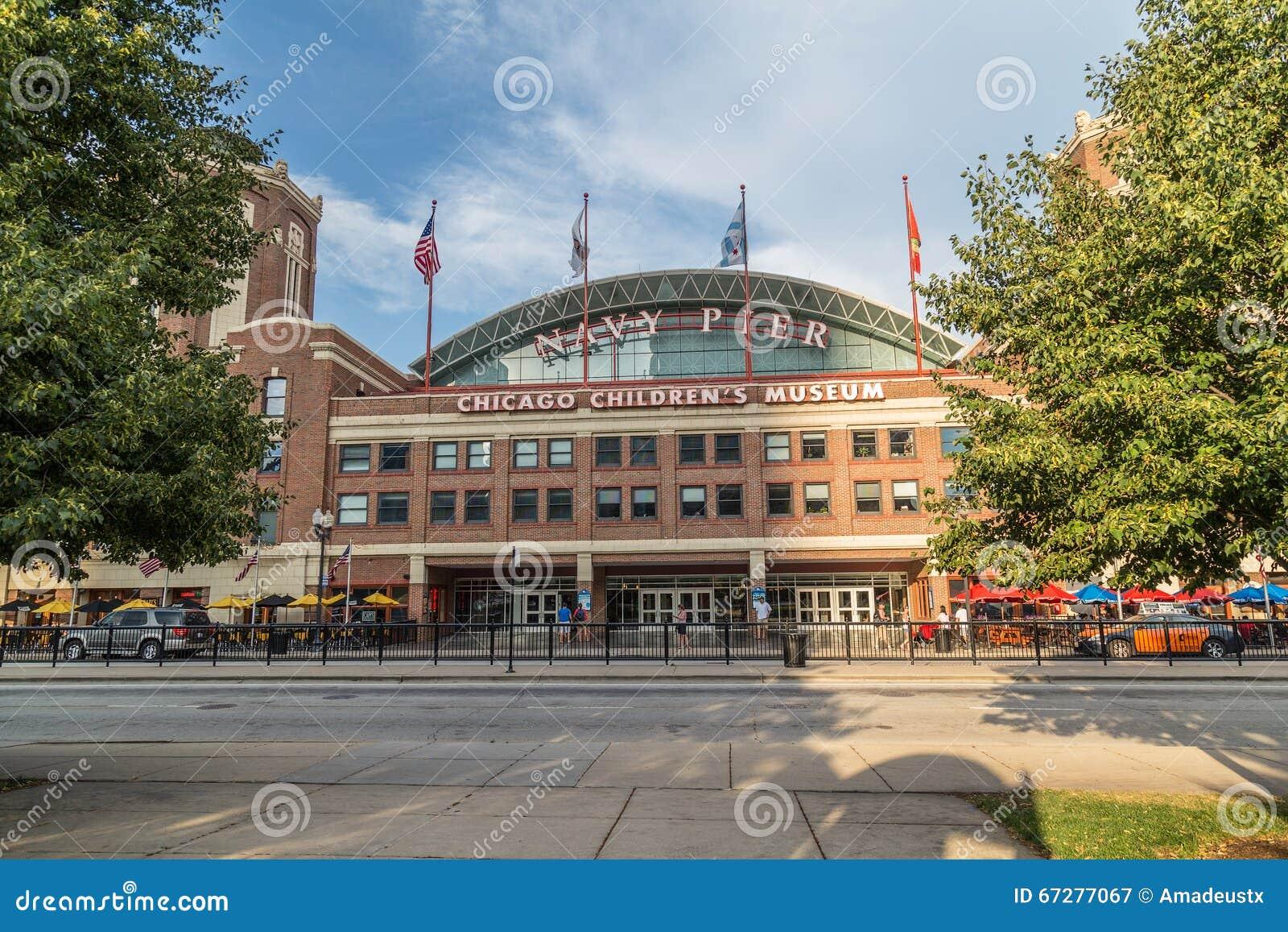 芝加哥, IL/USA -大约2015年7月:芝加哥儿童的博物馆,伊利诺伊