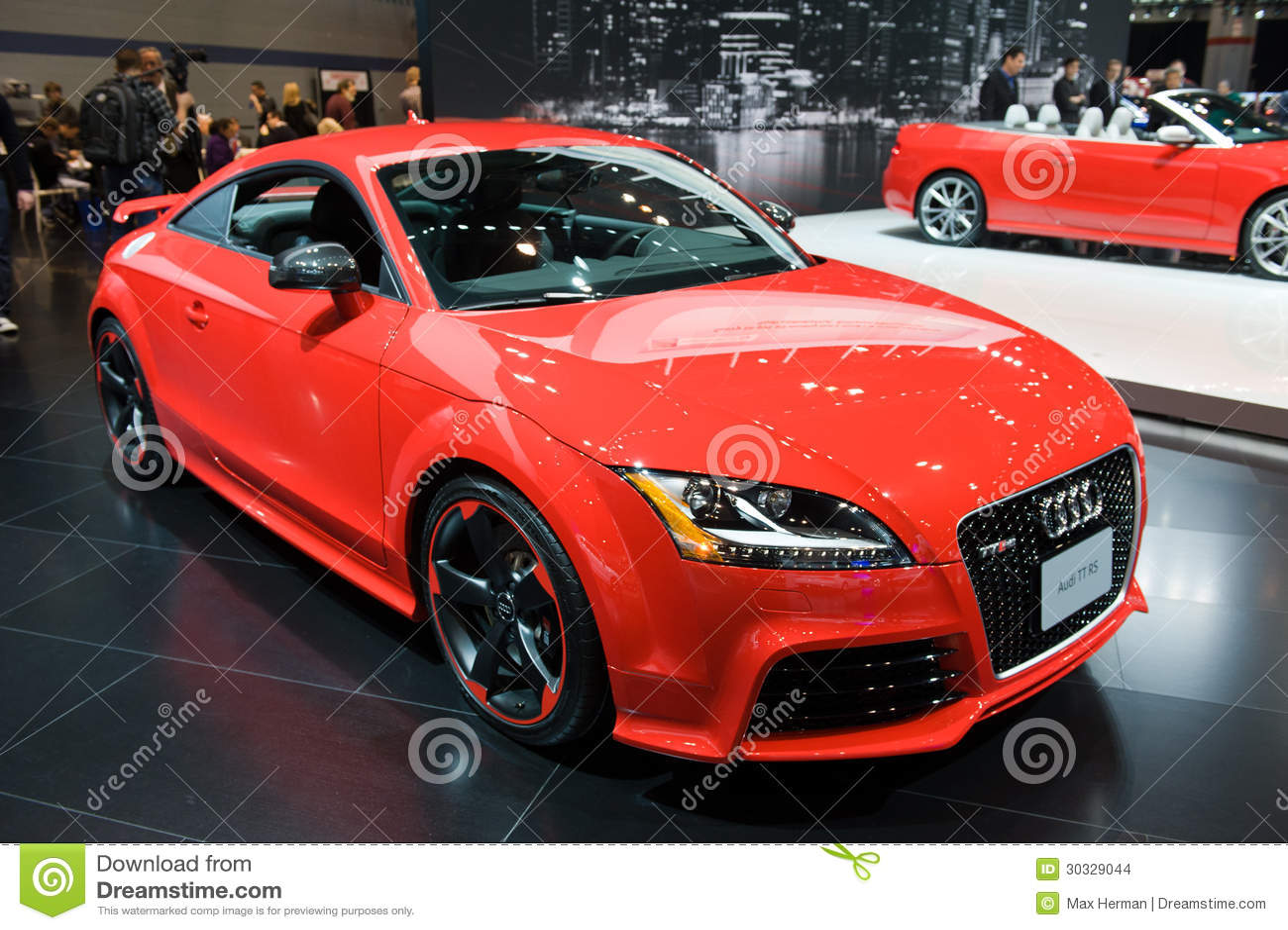 在芝加哥车展的Audi