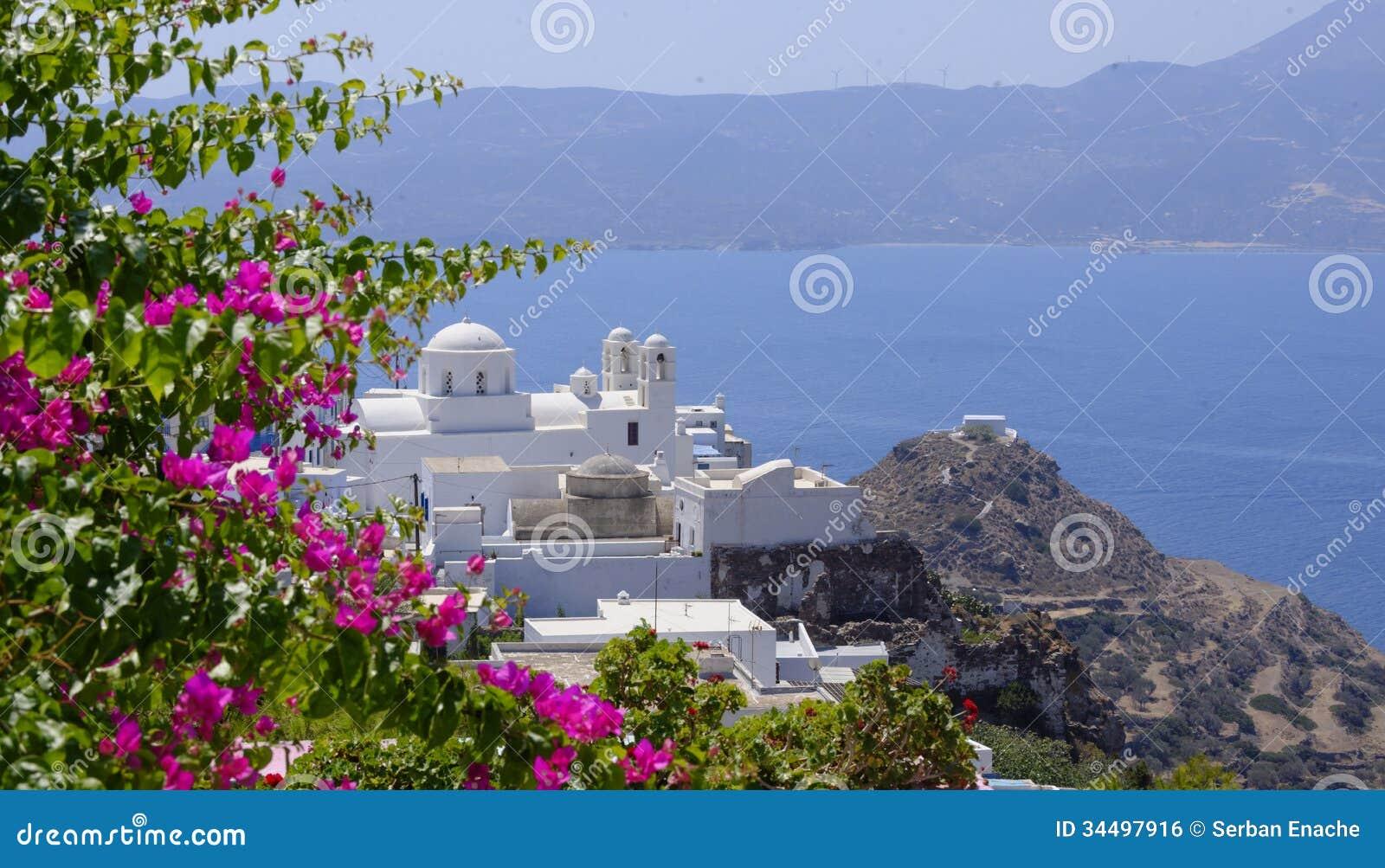 芦粟希腊海岛