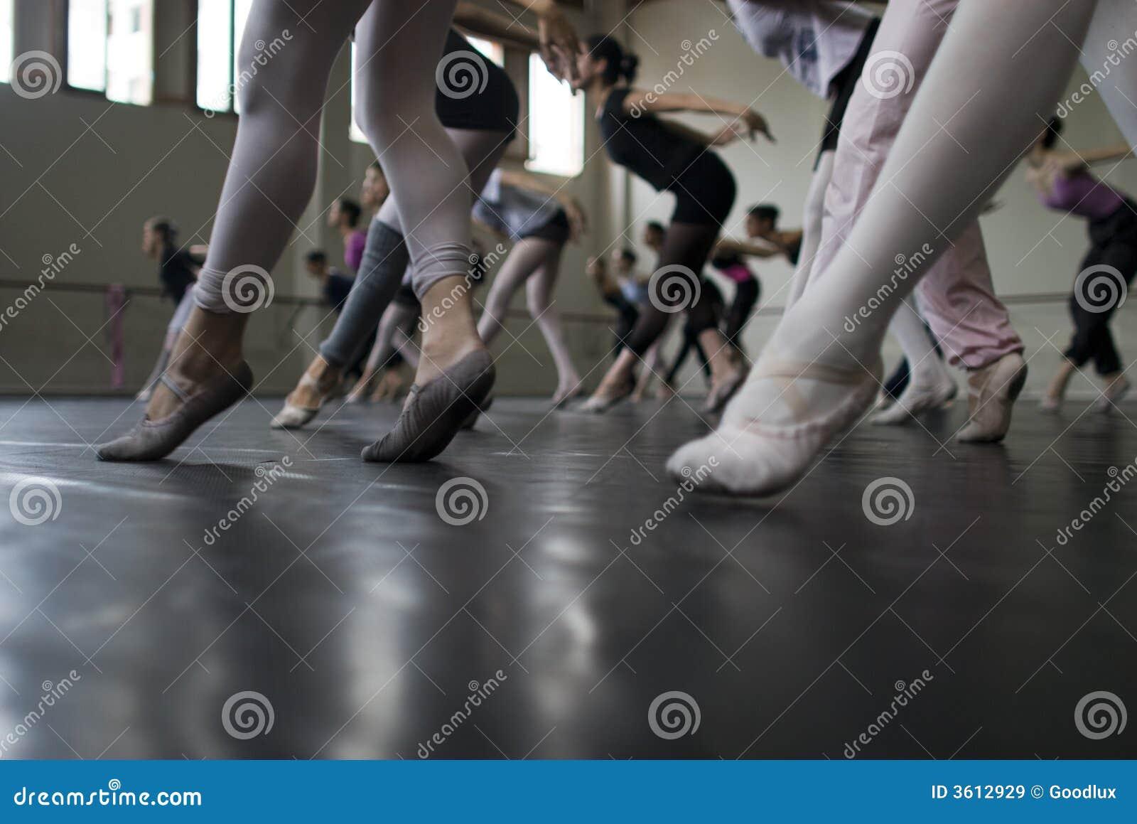 芭蕾舞蹈实践