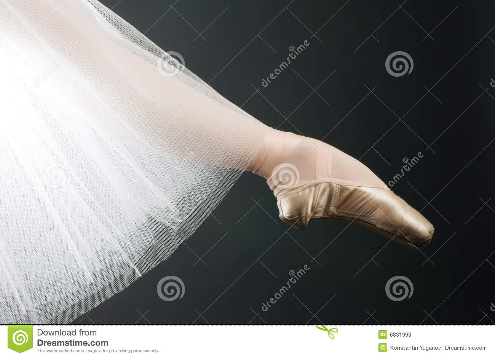 芭蕾行程鞋子