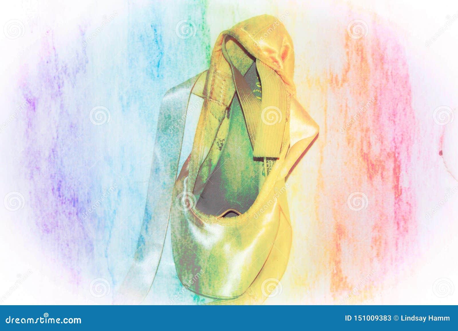 芭蕾Pointe鞋子