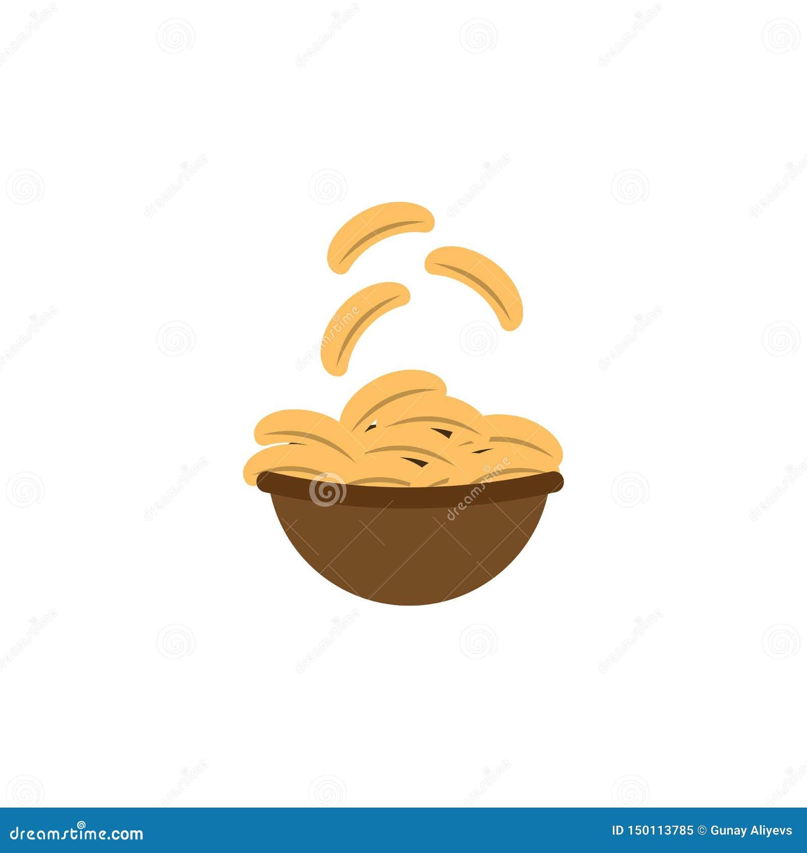 芯片,土豆,食物象 颜色国际食物象的元素 r E