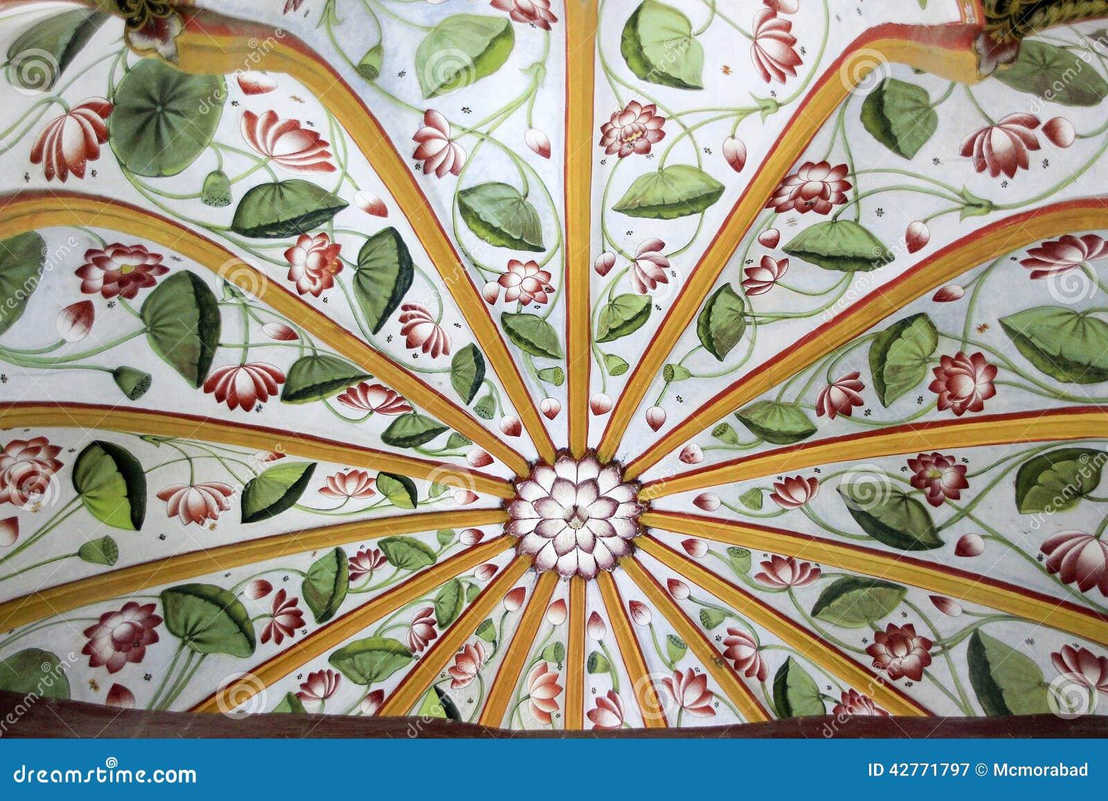 花卉圆顶设计