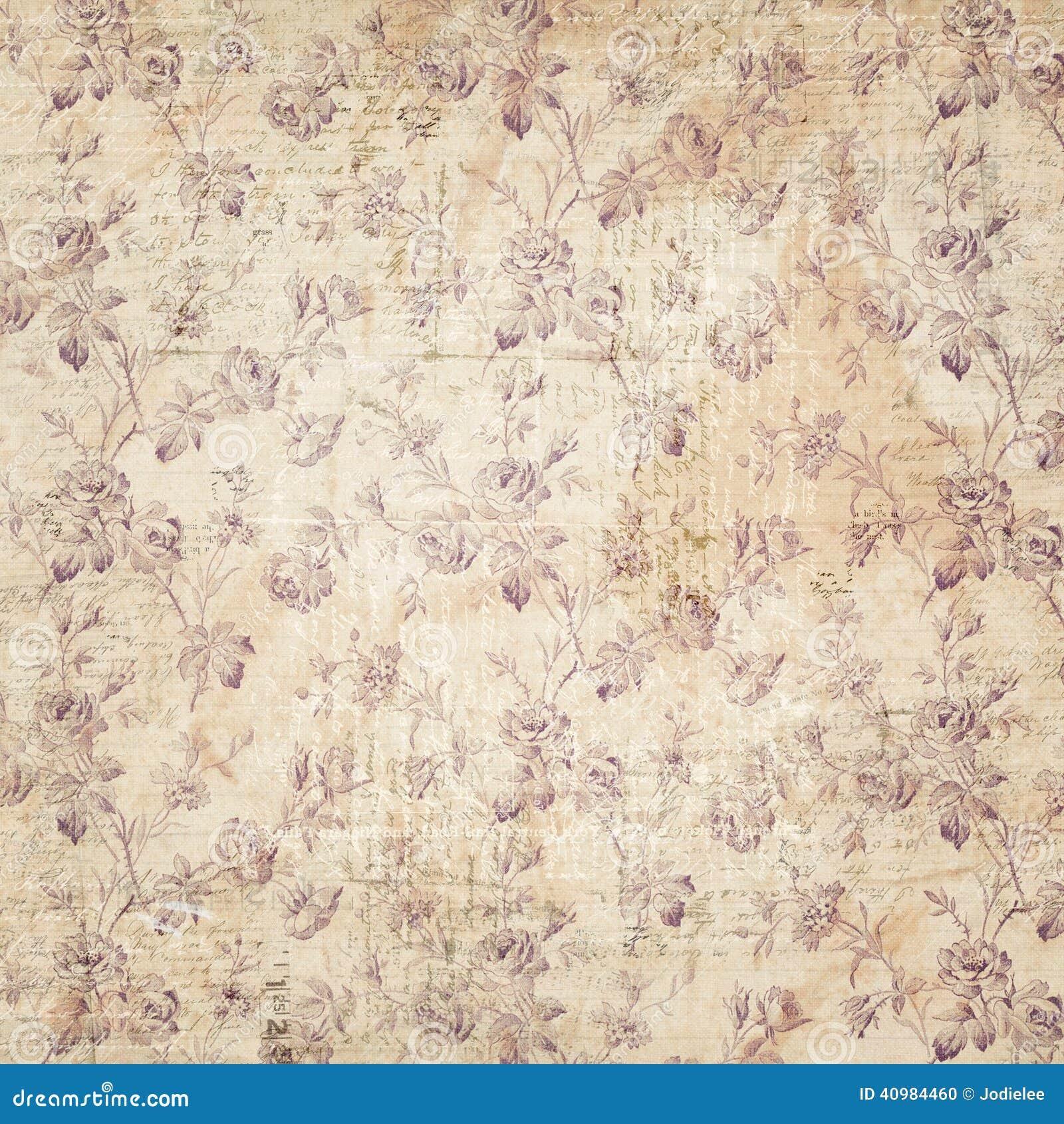 花卉墙纸背景