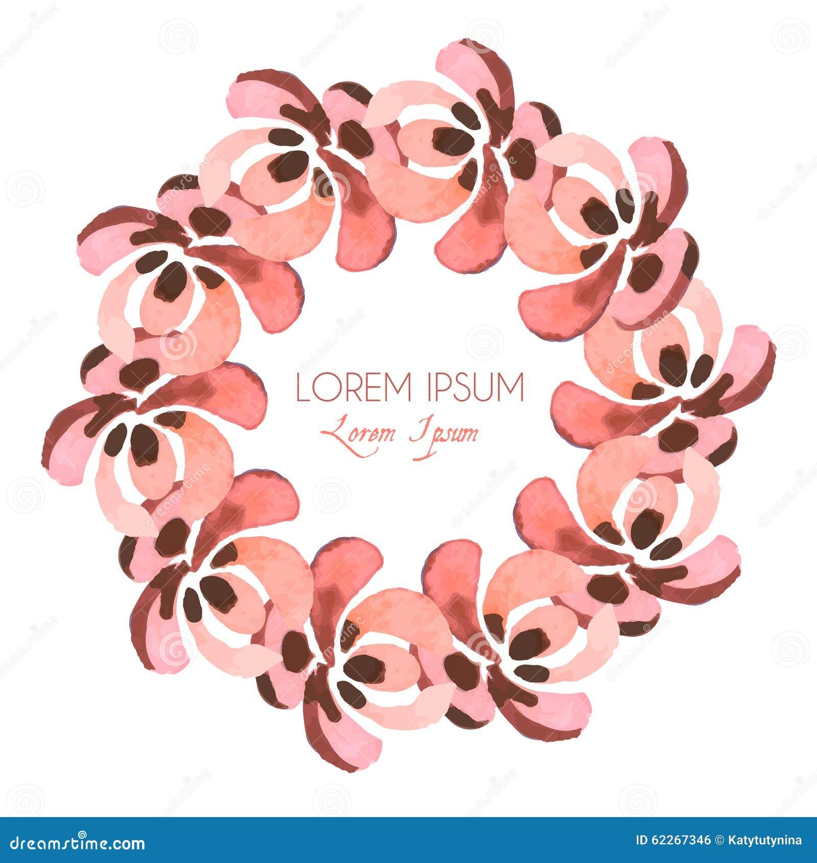 花卉框架构成系列