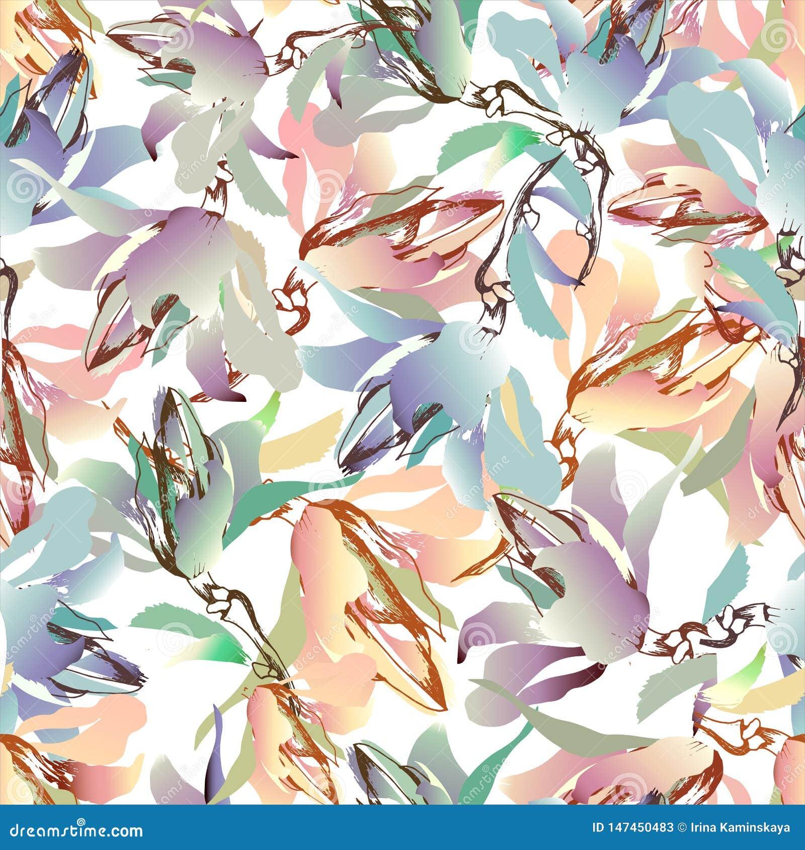 花夏天五颜六色的背景  欢乐乐趣纹理,水彩 r