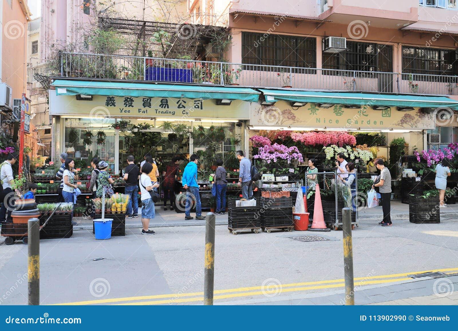 花市场在九龙,旺角HK