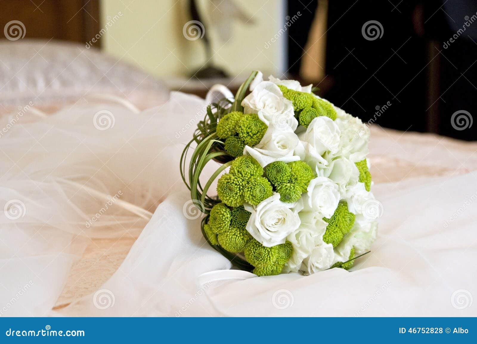 3花束重点前景婚礼