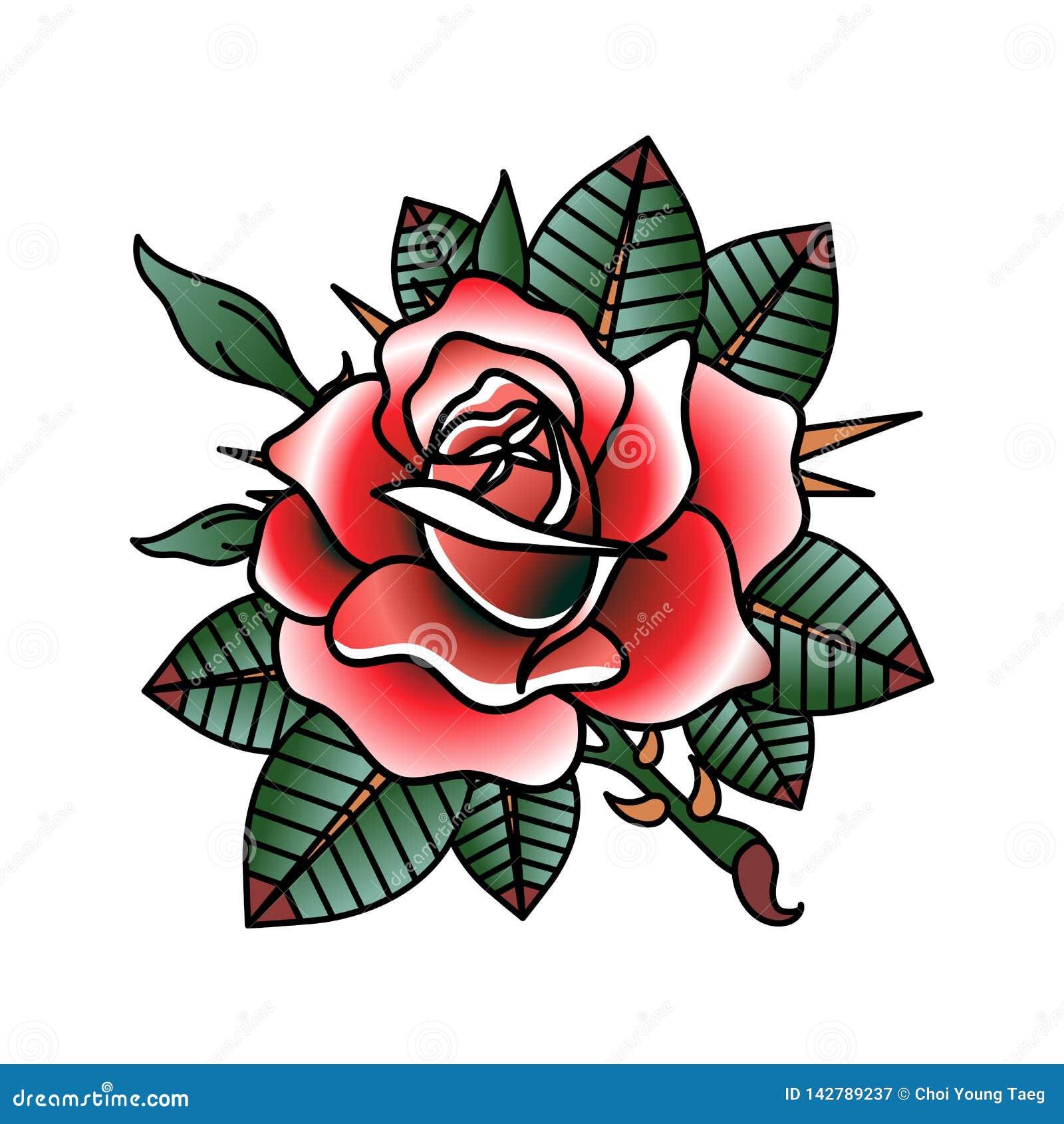 花纹身花刺设计传染媒介图象