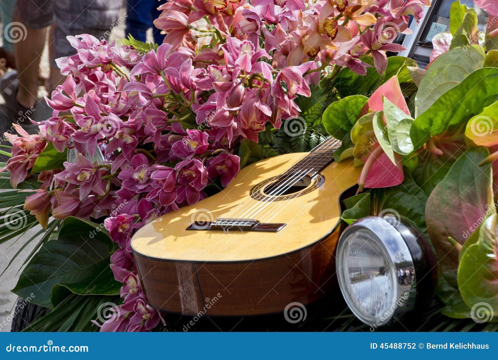 花节日在丰沙尔