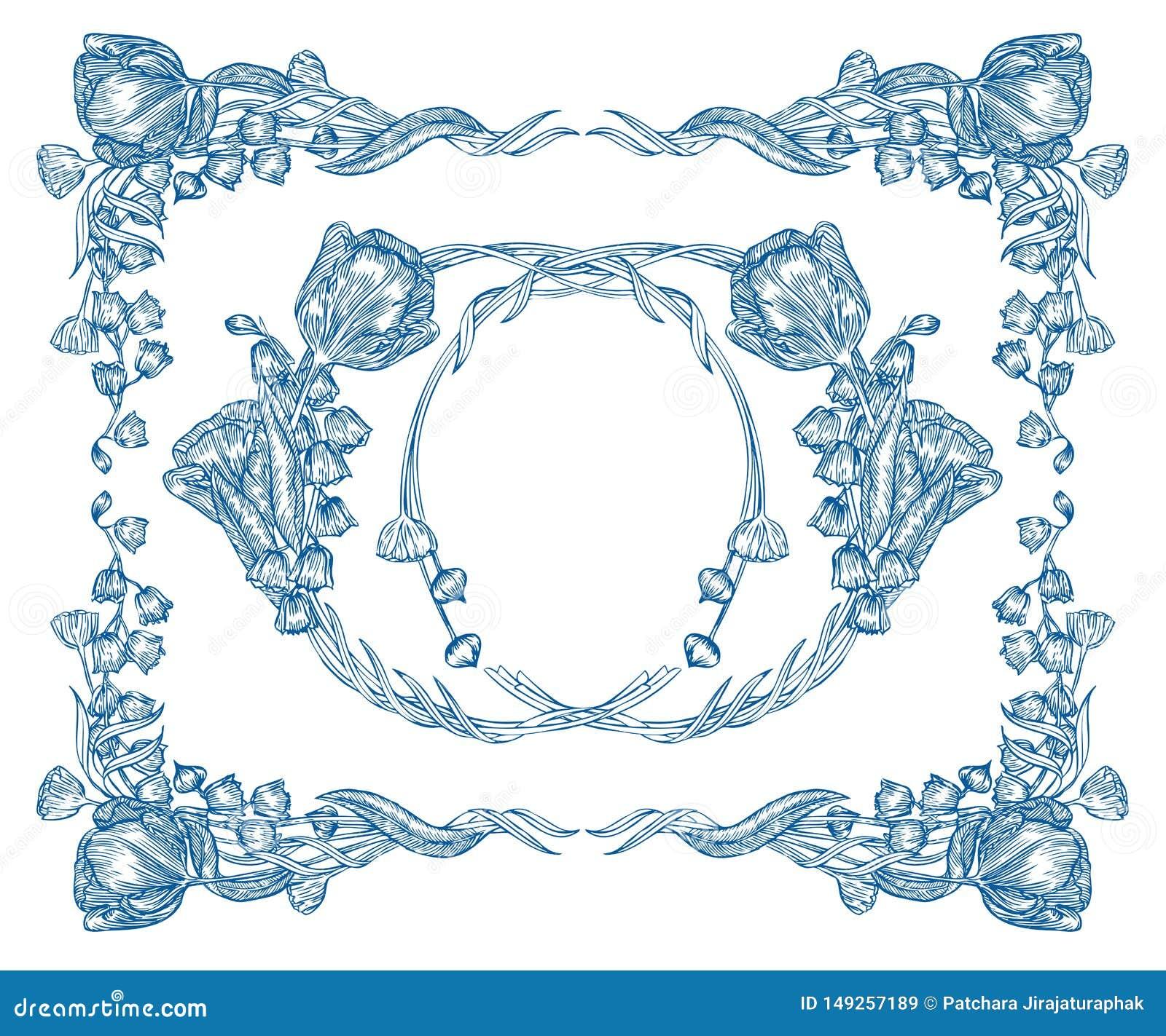 花花束模板 Vecter元素