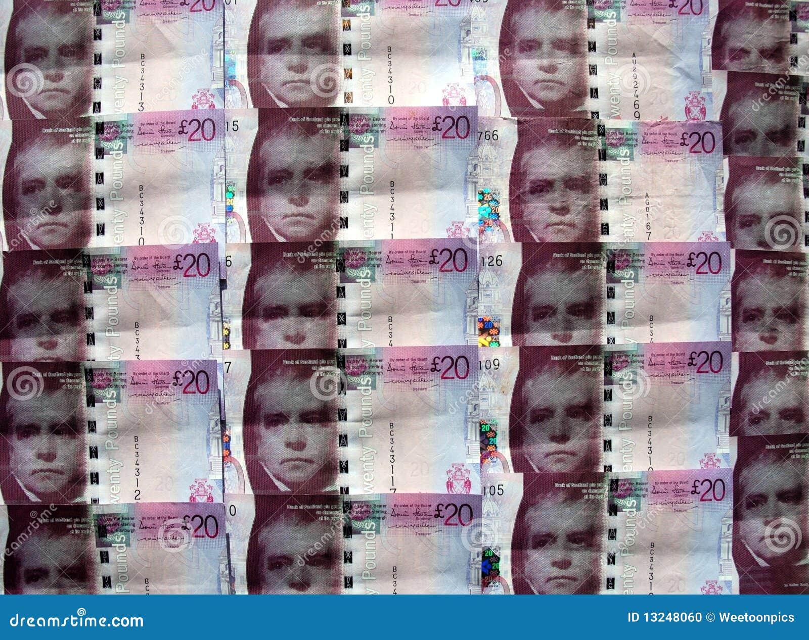 苏格兰货币。