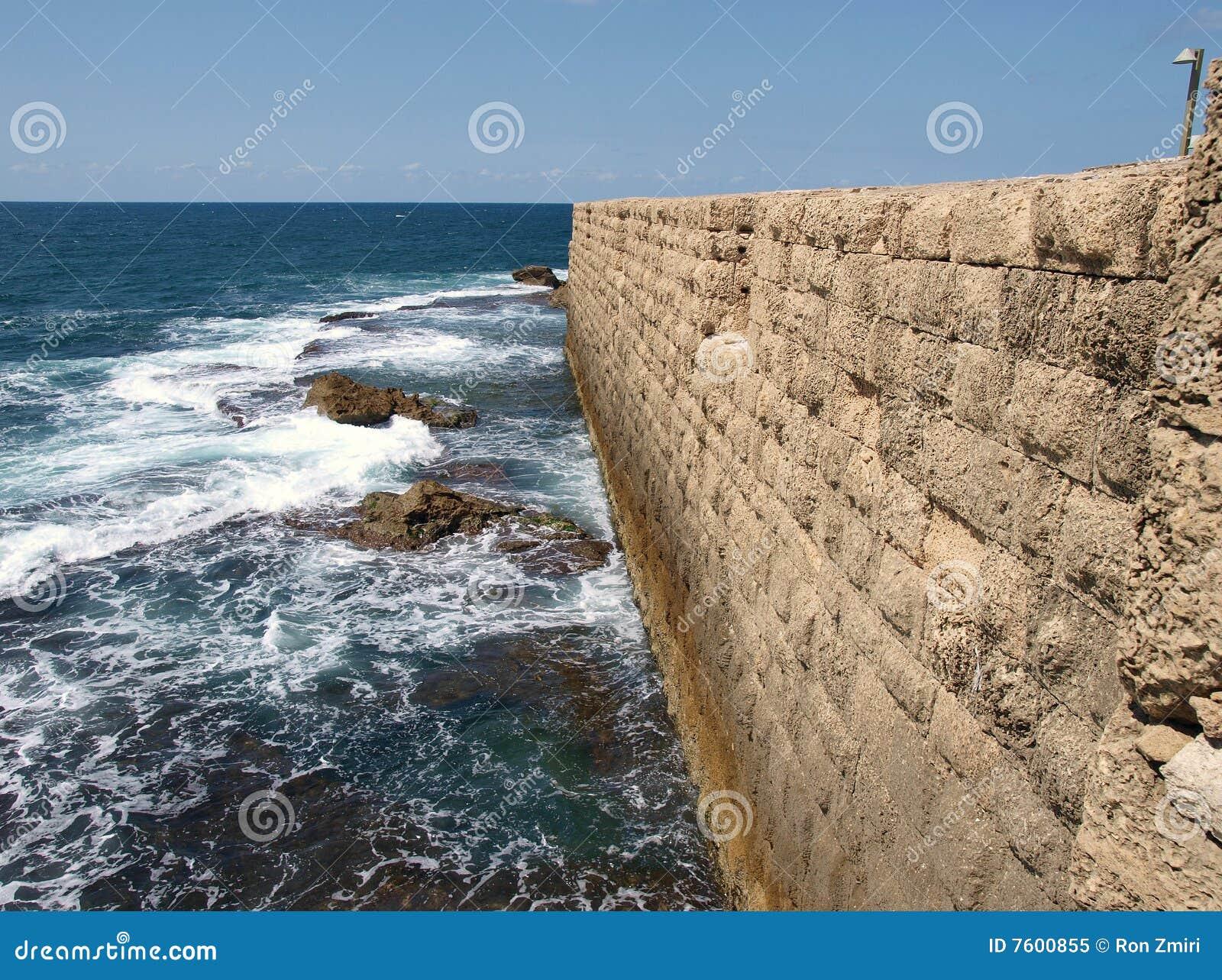 英亩akko以色列防波堤