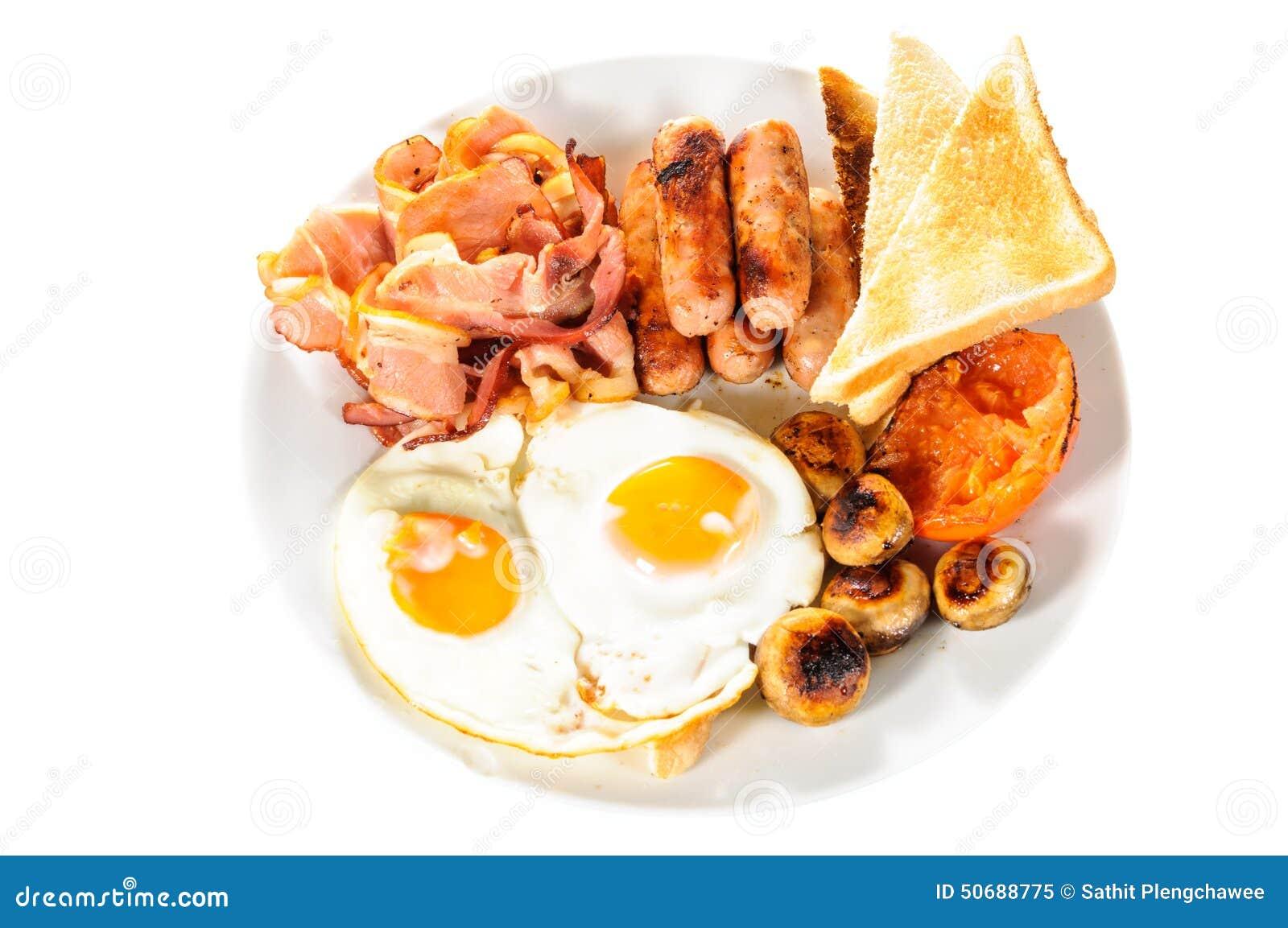 Download 英国大早餐 库存图片. 图片 包括有 查出, 细菌学, 多士, 烹调, 空白, 油炸物, 牌照, browne - 50688775
